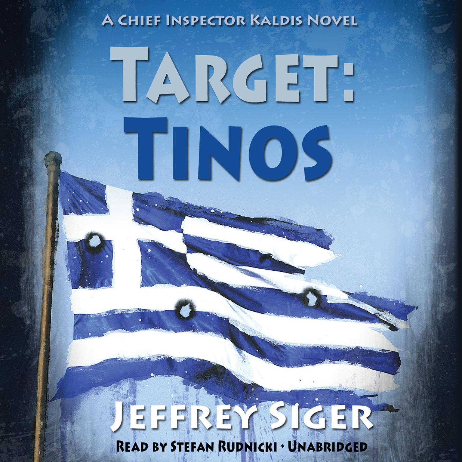 Printable Target: Tinos: An Inspector Kaldis Mystery Audiobook Cover Art