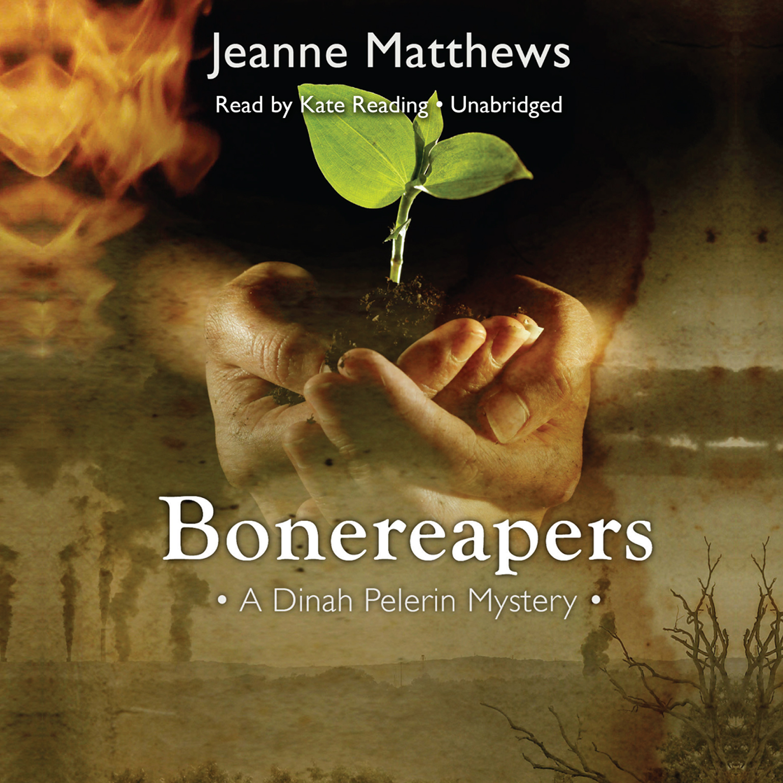 Printable Bonereapers: A Dinah Pelerin Mystery Audiobook Cover Art