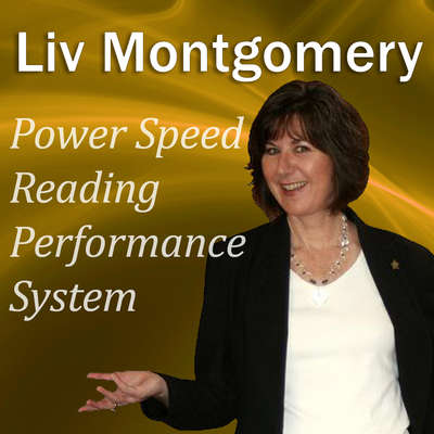 Power Speed-Reading Performance System: With Mind Music for Peak Performance Audiobook, by Liv Montgomery