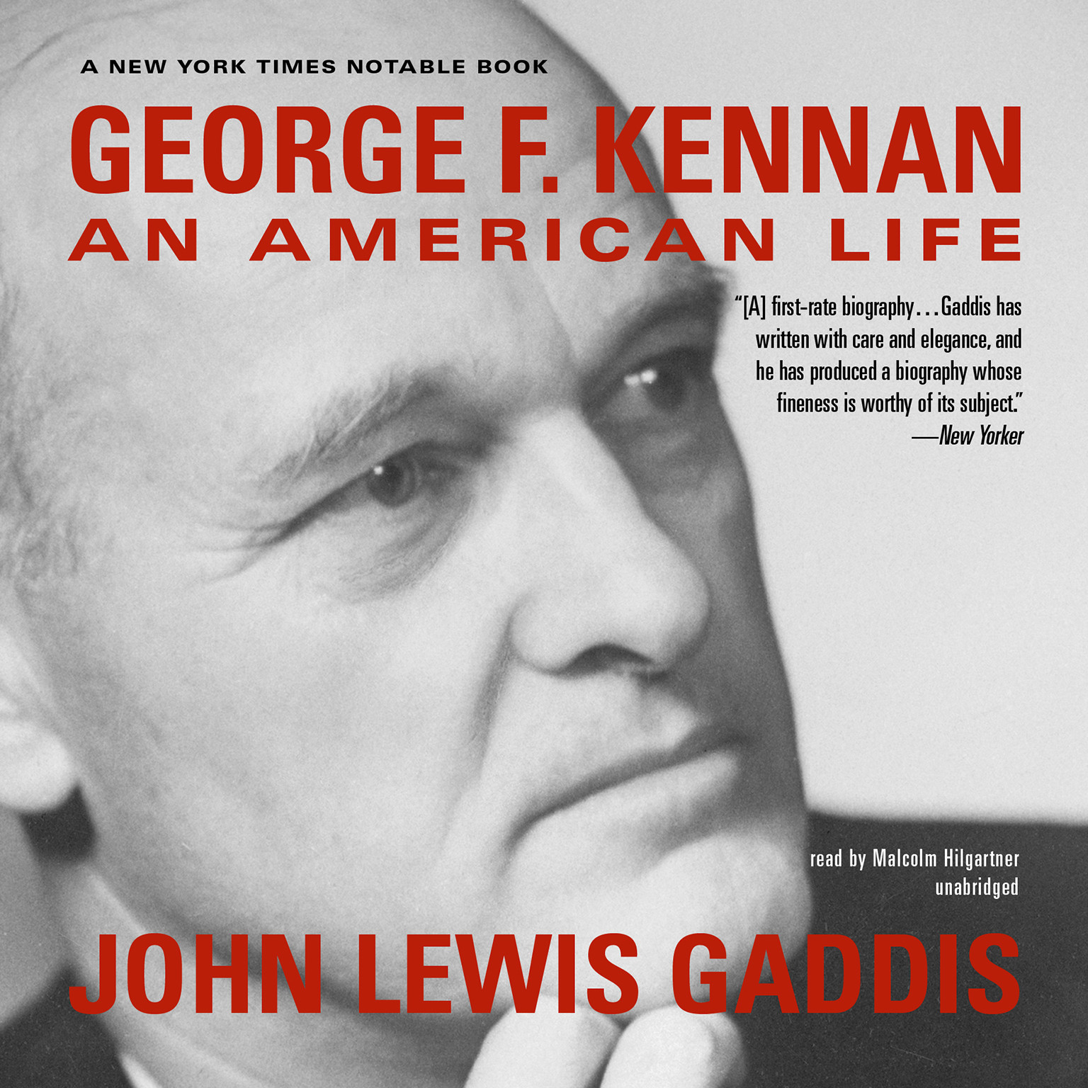 Printable George F. Kennan: An American Life Audiobook Cover Art