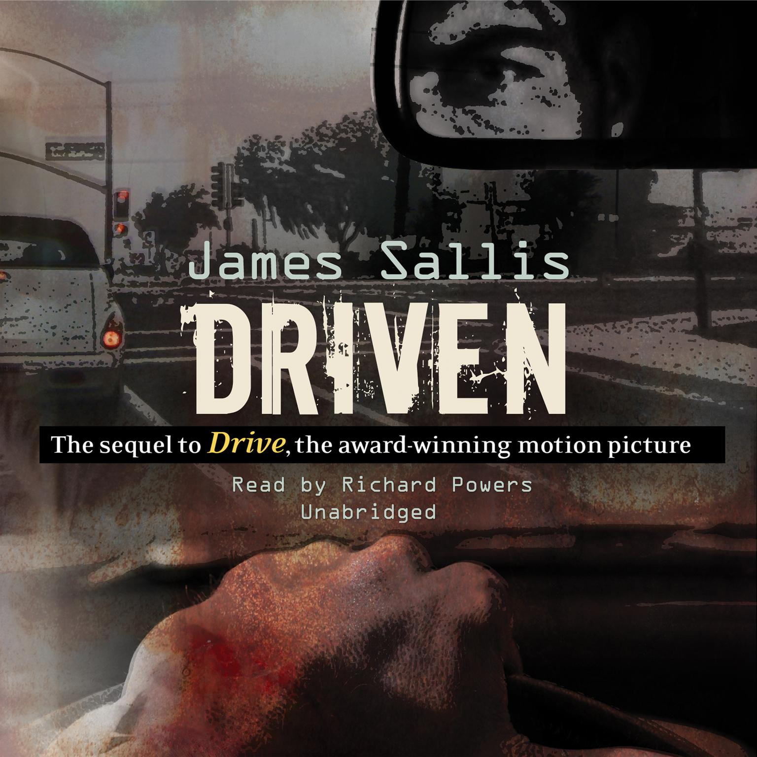 Printable Driven Audiobook Cover Art