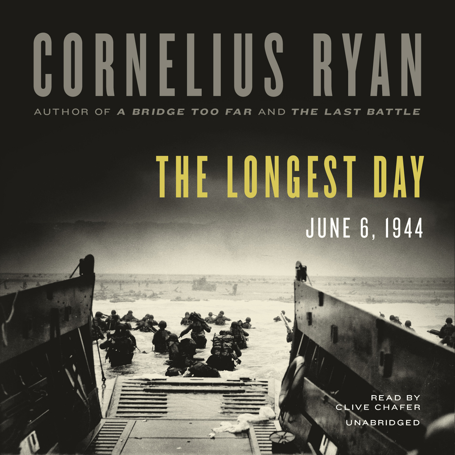 Printable The Longest Day: June 6, 1944 Audiobook Cover Art