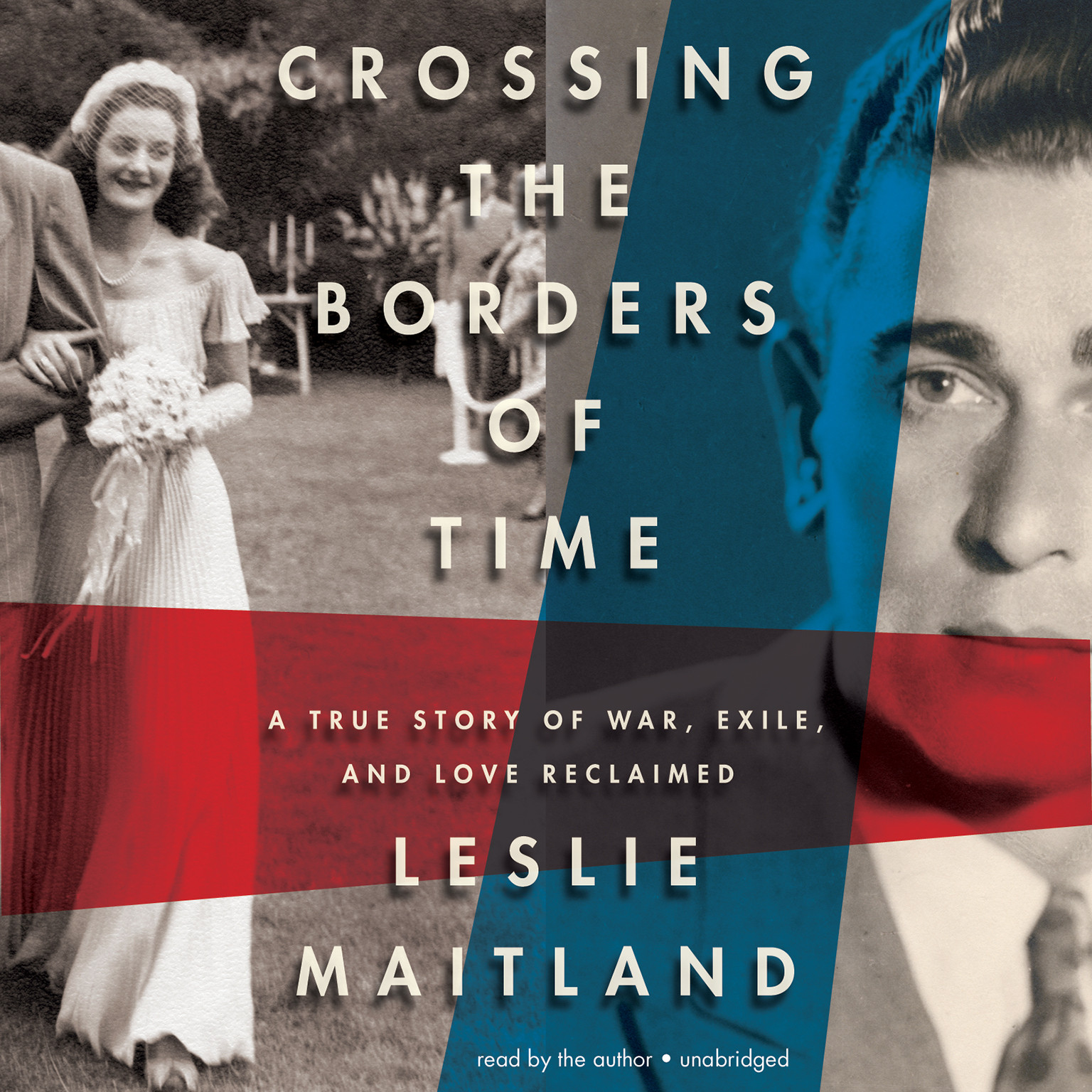 Printable Crossing the Borders of Time: A True Story of War, Exile, and Love Reclaimed Audiobook Cover Art