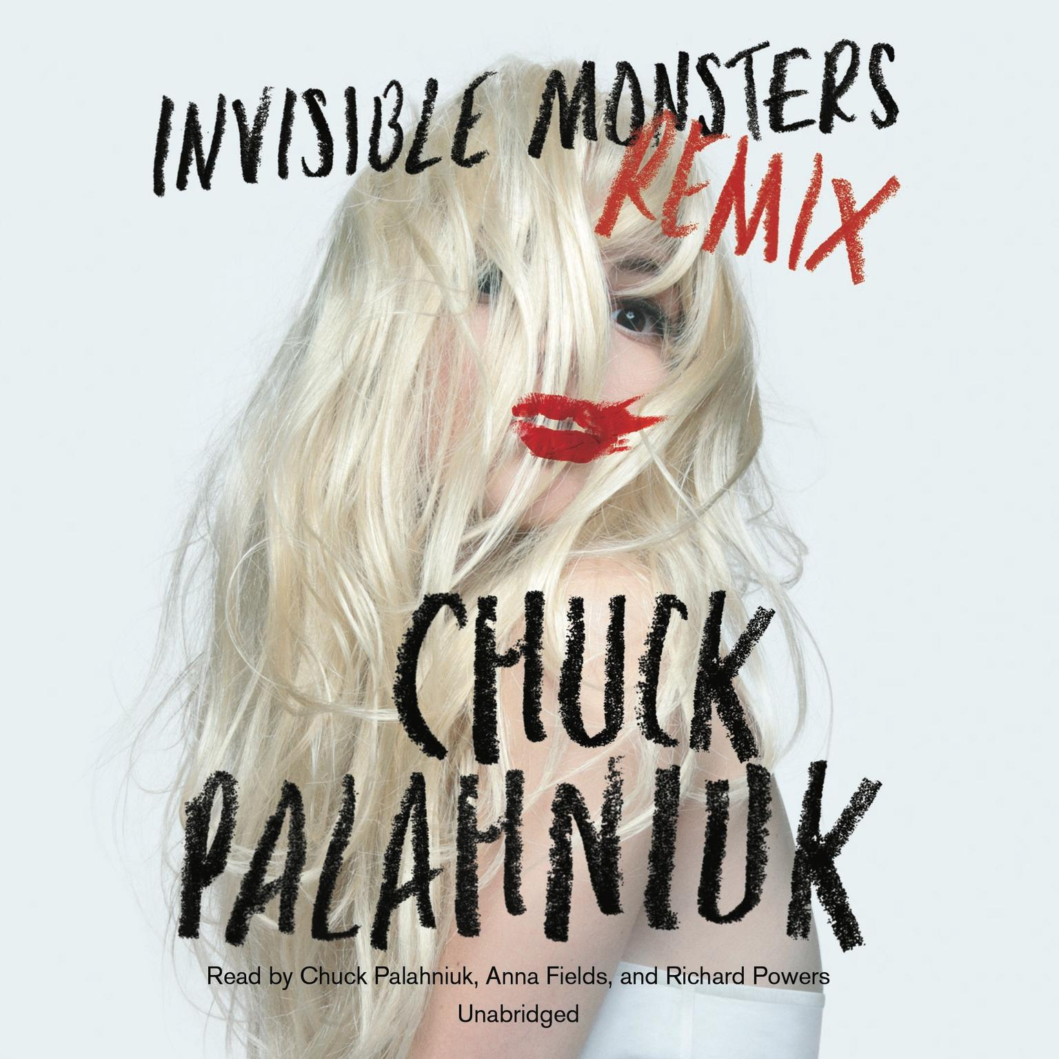 Printable Invisible Monsters Remix Audiobook Cover Art