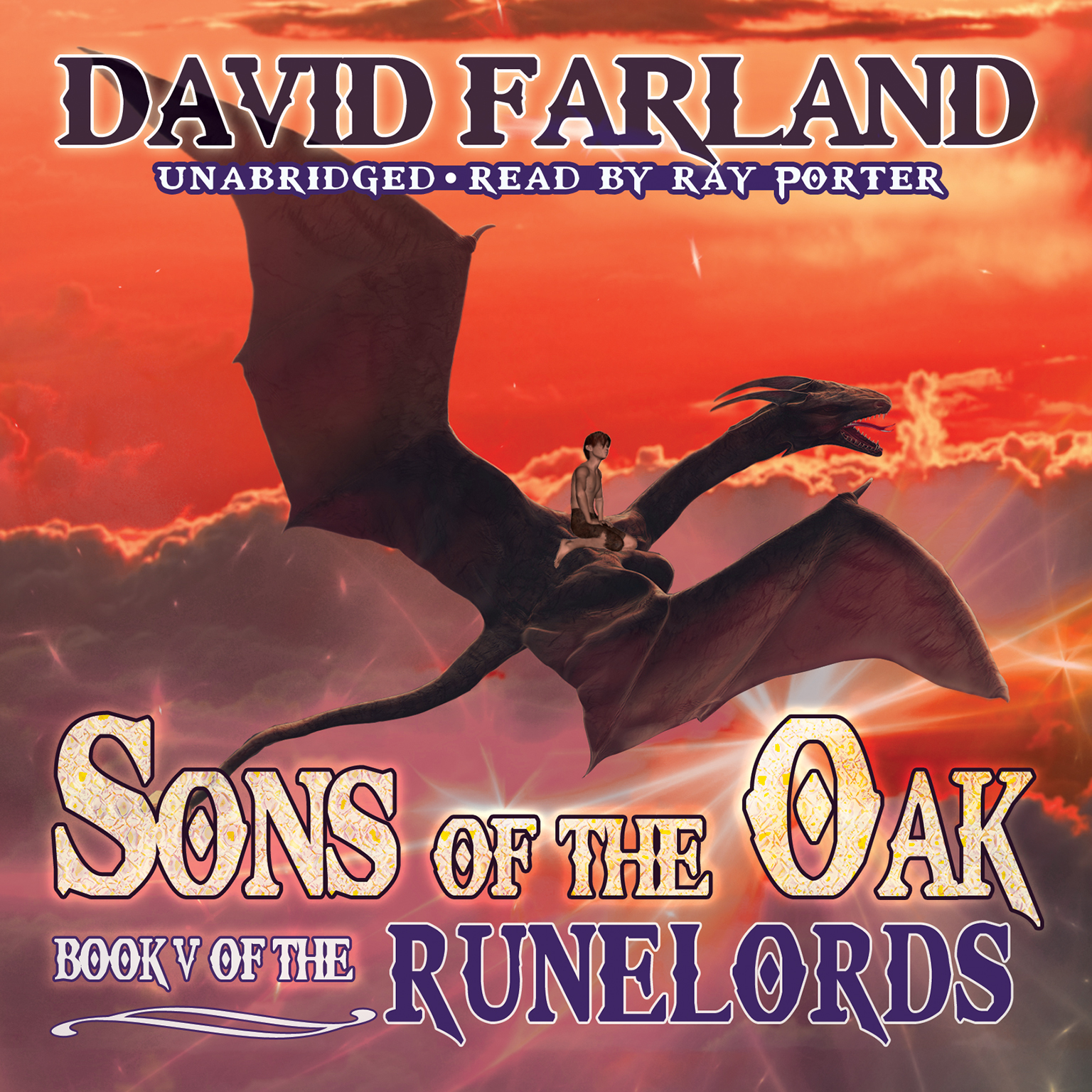 Printable Sons of the Oak Audiobook Cover Art