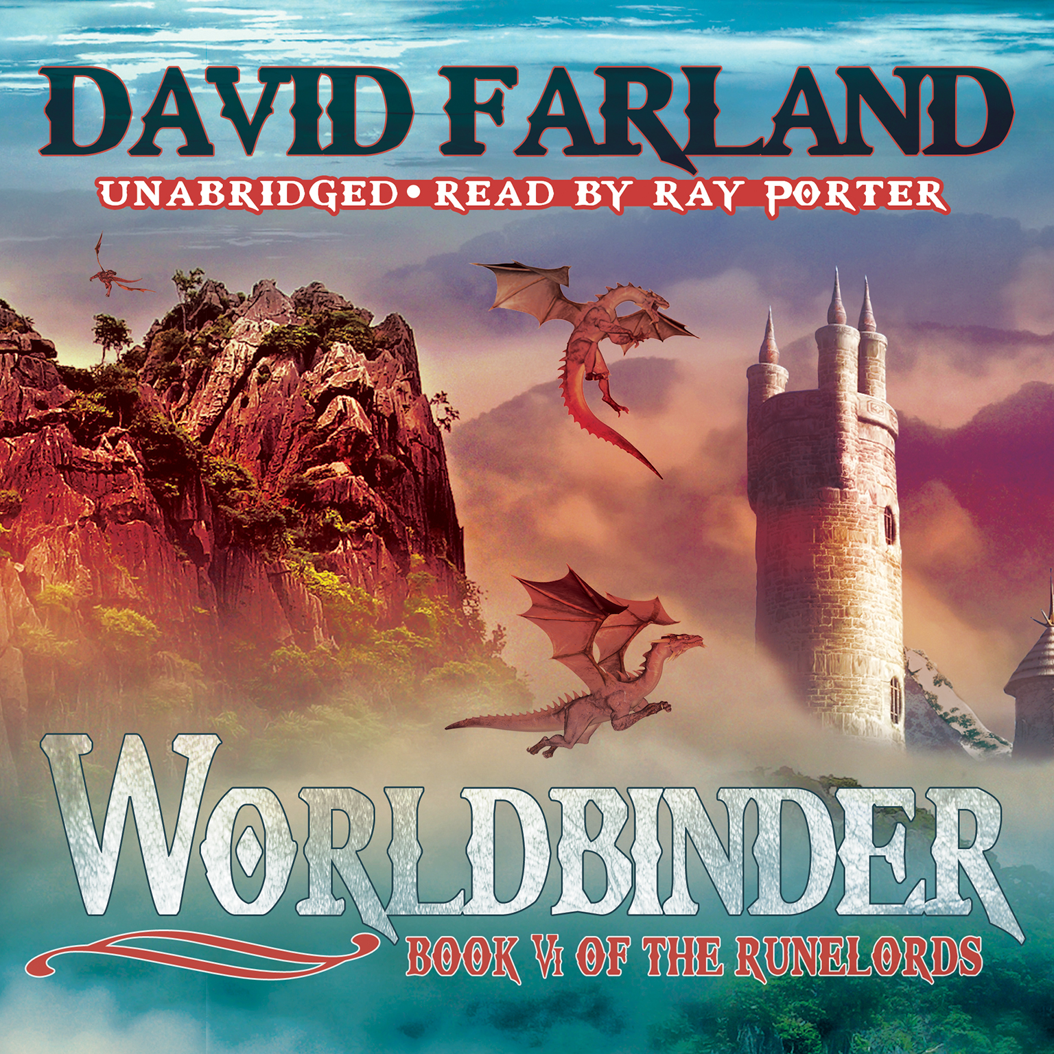 Printable Worldbinder Audiobook Cover Art