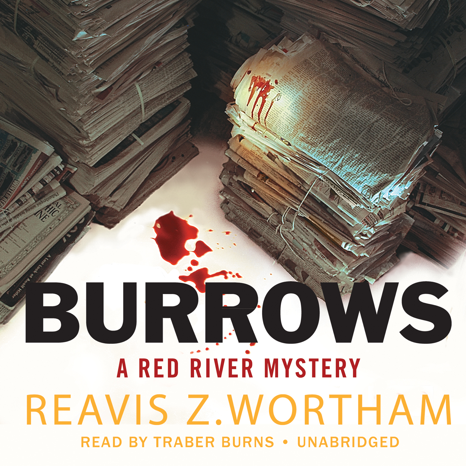 Printable Burrows: A Red River Mystery Audiobook Cover Art