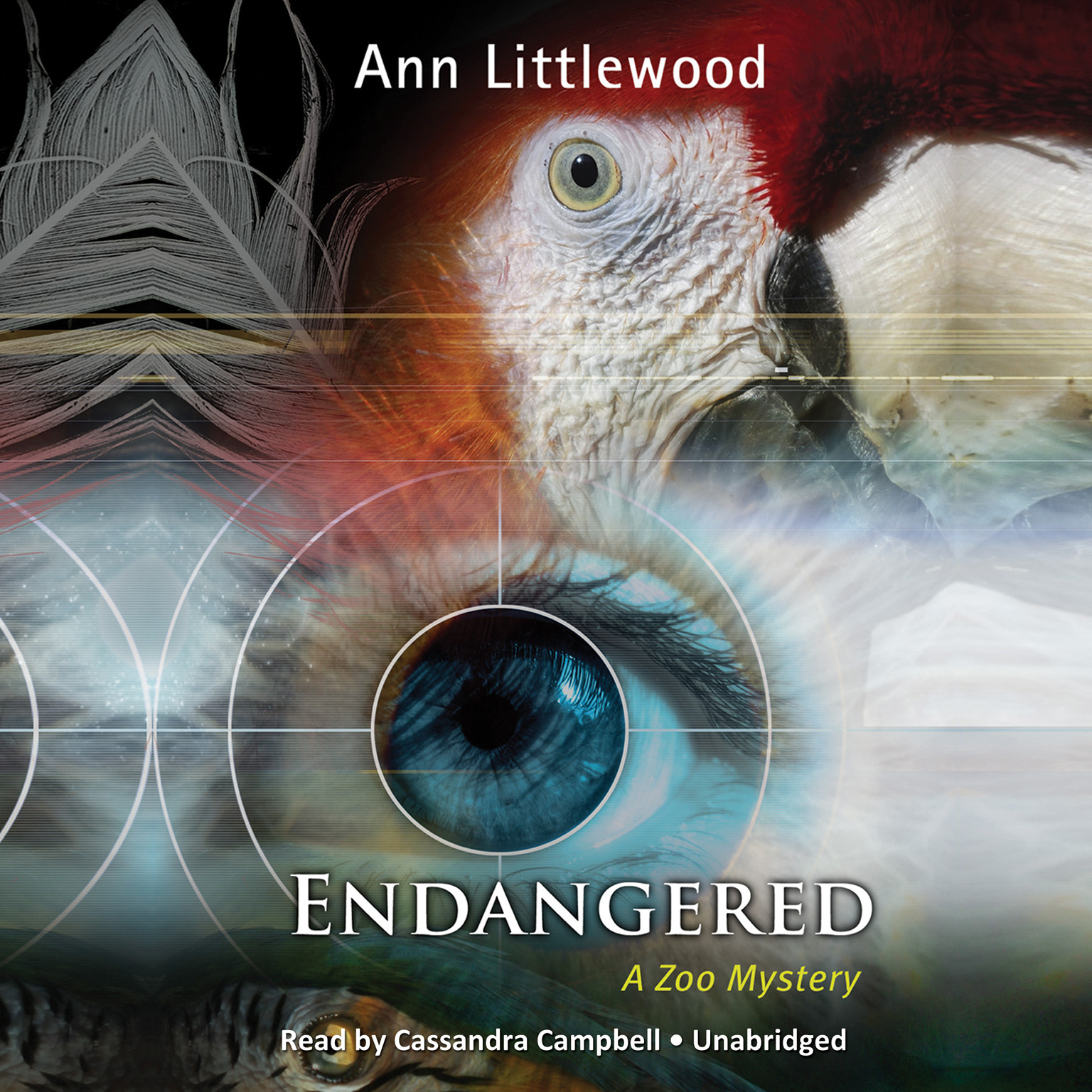 Printable Endangered: A Zoo Mystery Audiobook Cover Art