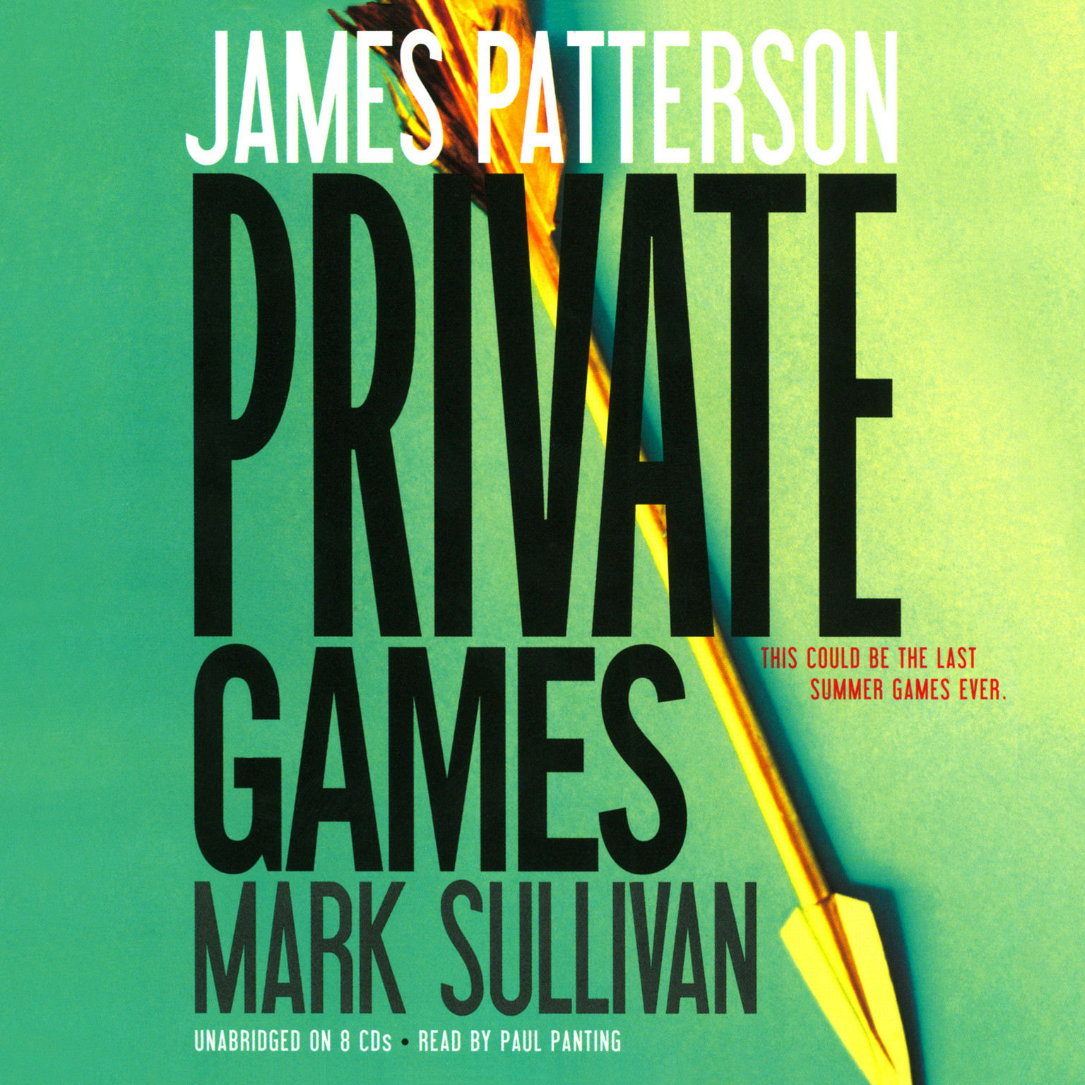 Printable Private Games Audiobook Cover Art