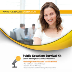 Public Speaking Survival Kit: Expert Training to Dazzle Your Audience Audiobook, by Brian Tracy, Dianna Booher