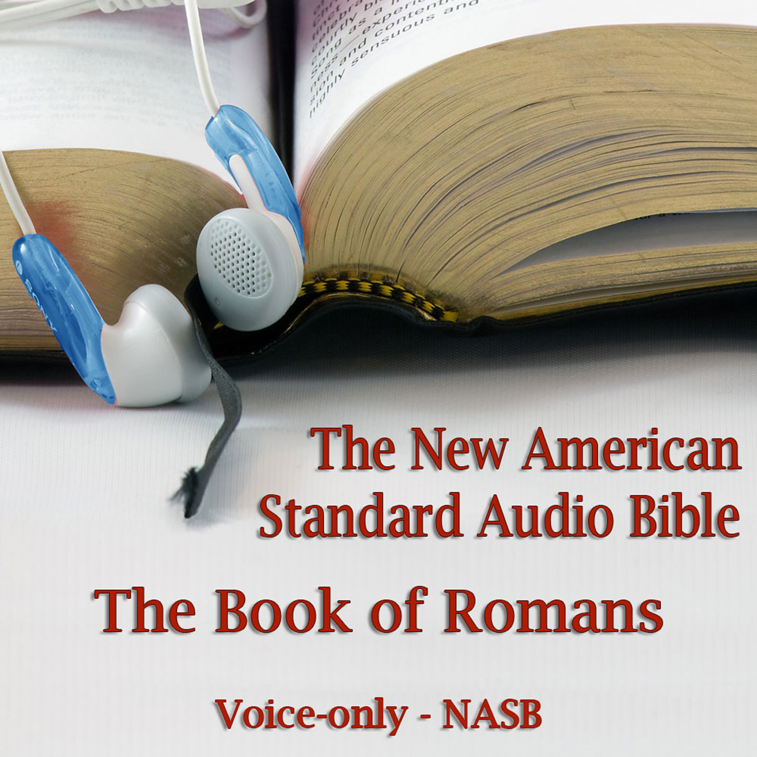 Printable The Book of Romans: The Voice Only New American Standard Bible (NASB) Audiobook Cover Art