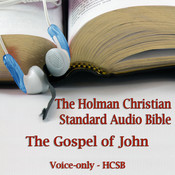 The Gospel of John: The Voice Only Holman Christian Standard Audio Bible (HCSB) Audiobook, by Made for Success