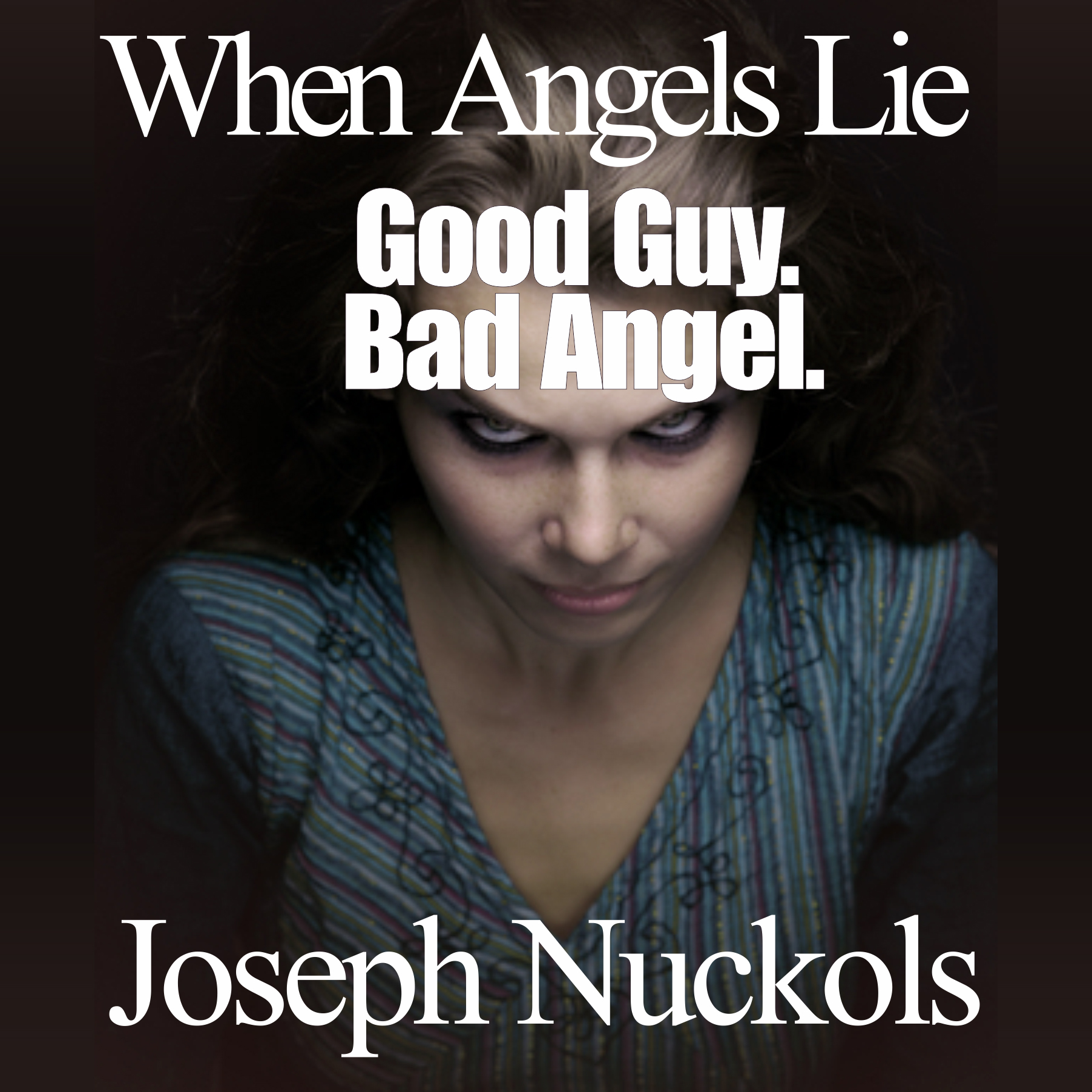 Printable When Angels Lie Audiobook Cover Art