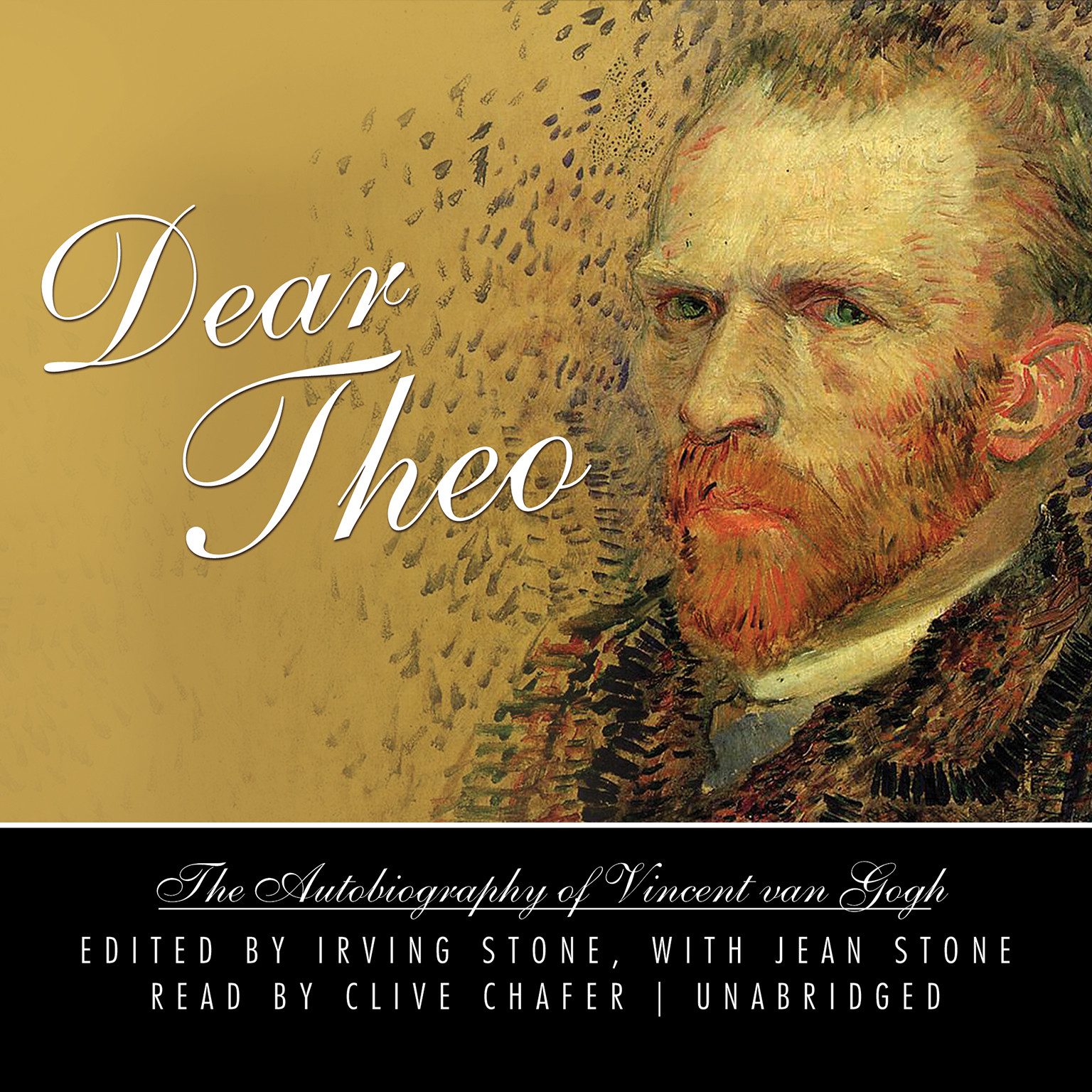 Printable Dear Theo: The Autobiography of Vincent van Gogh Audiobook Cover Art