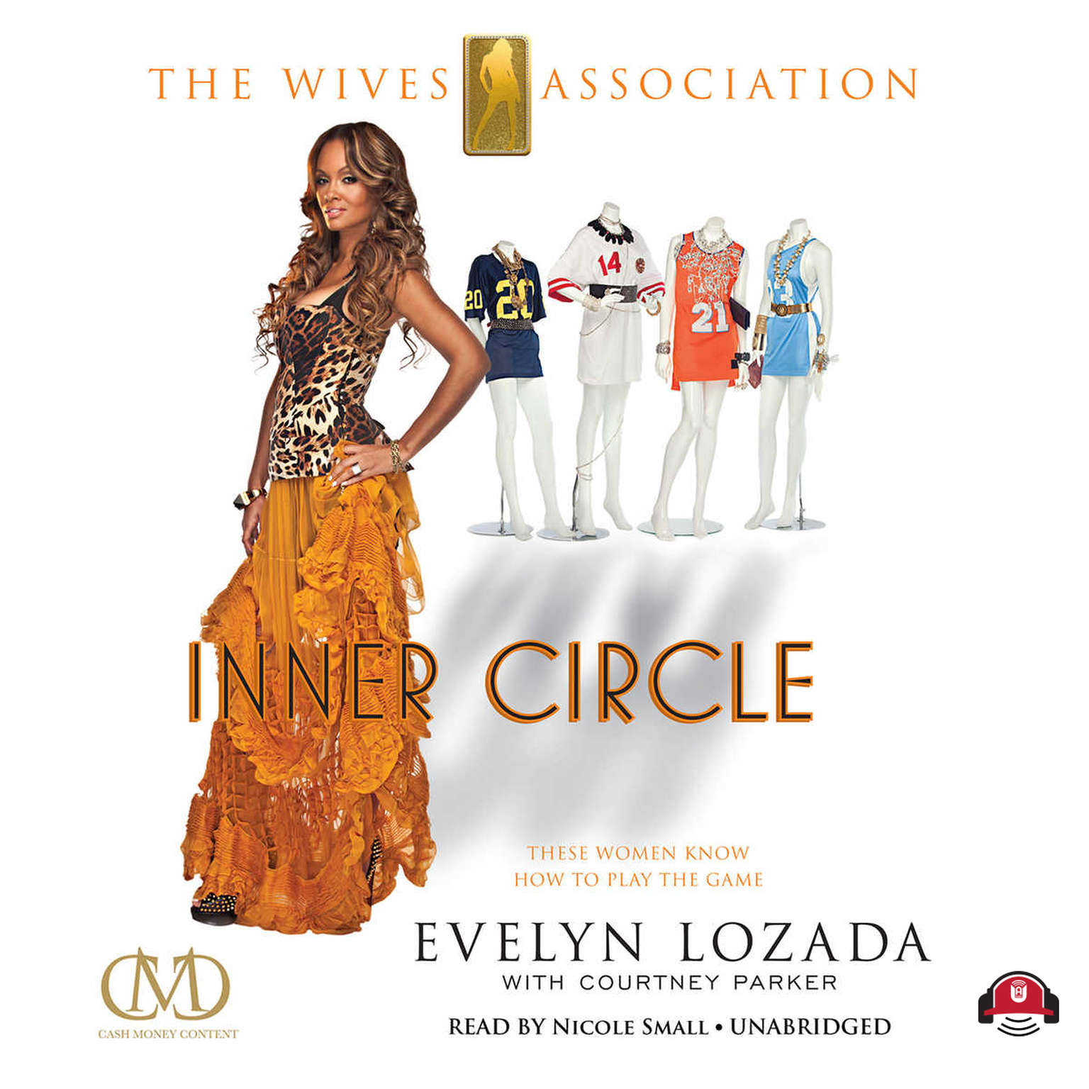 Printable Inner Circle: The Wives Association Audiobook Cover Art
