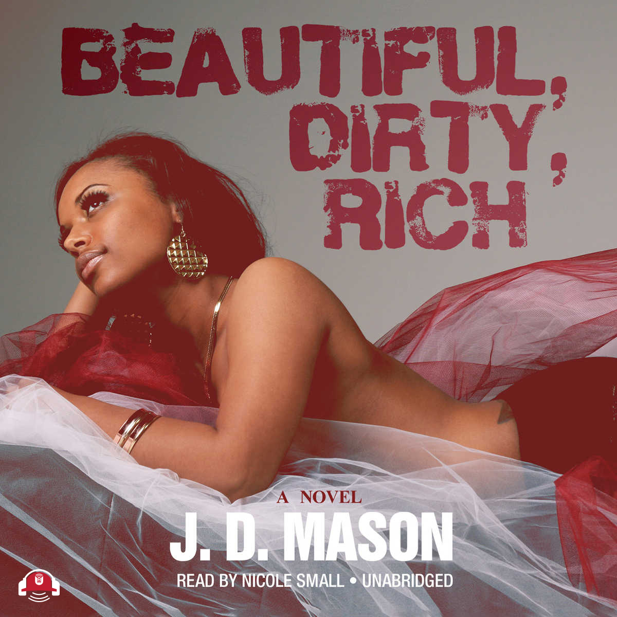 Printable Beautiful, Dirty, Rich Audiobook Cover Art