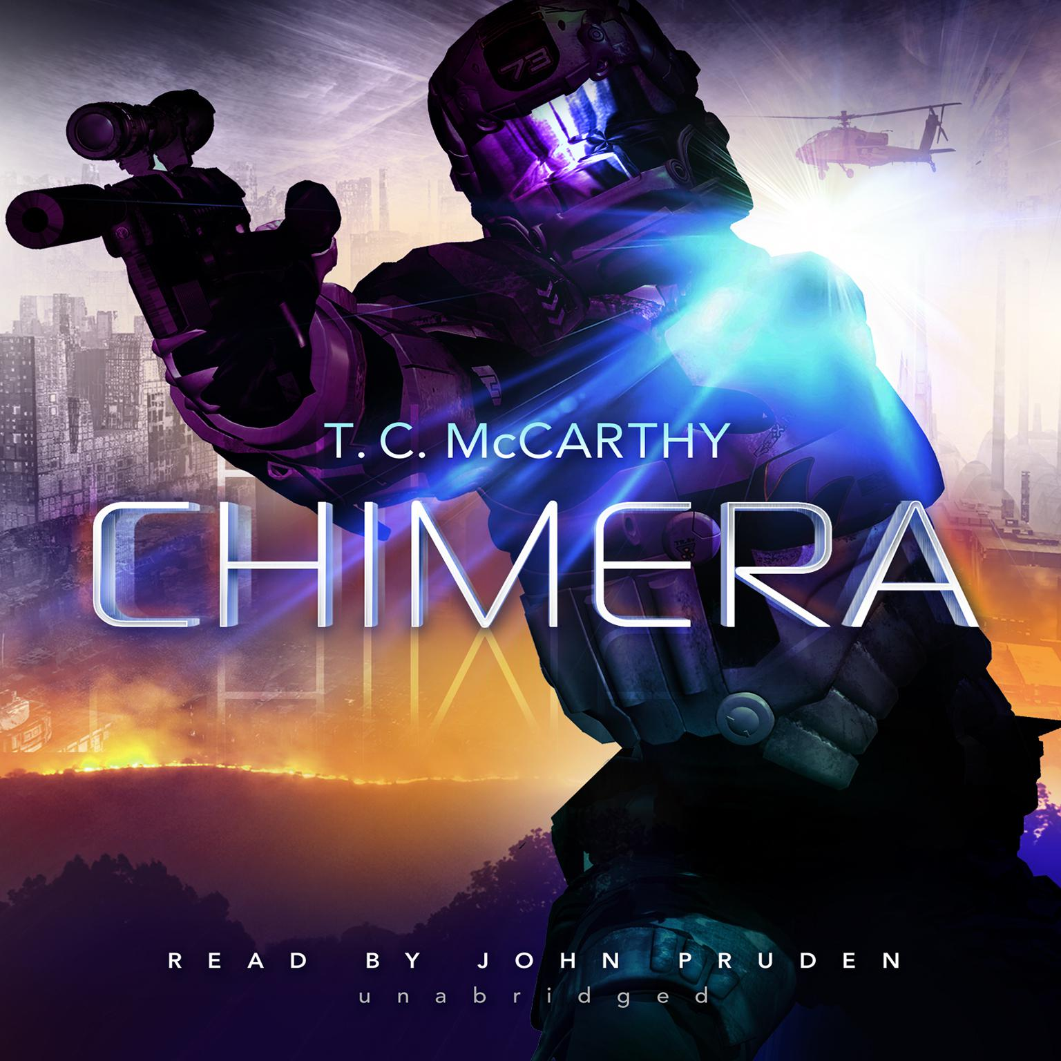 Printable Chimera Audiobook Cover Art