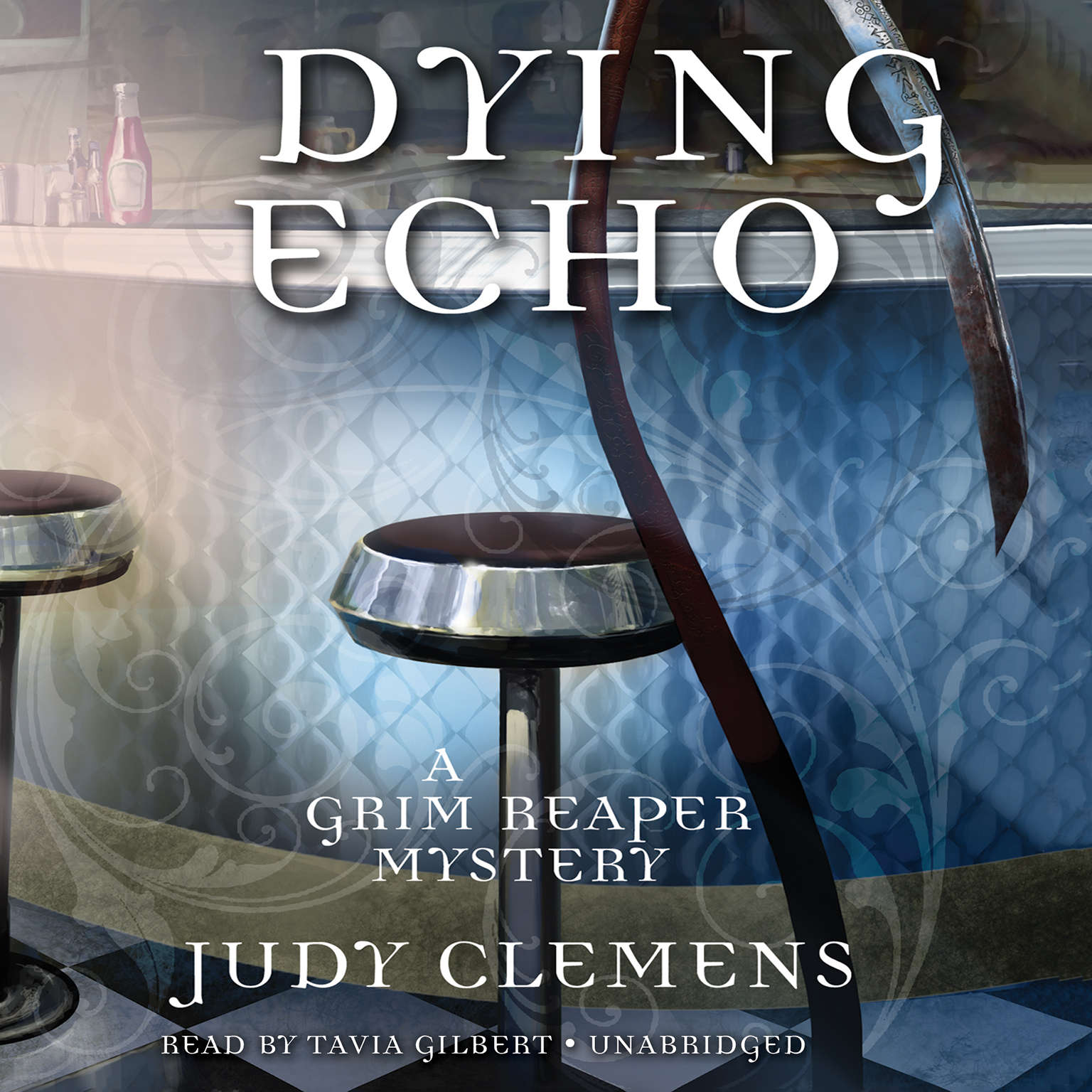 Printable Dying Echo: A Grim Reaper Mystery Audiobook Cover Art