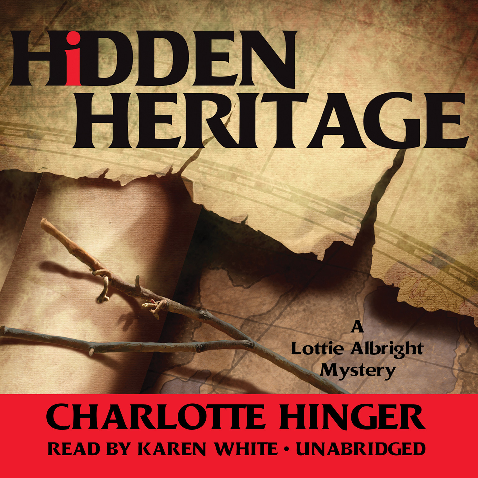 Printable Hidden Heritage: A Lottie Albright Mystery Audiobook Cover Art