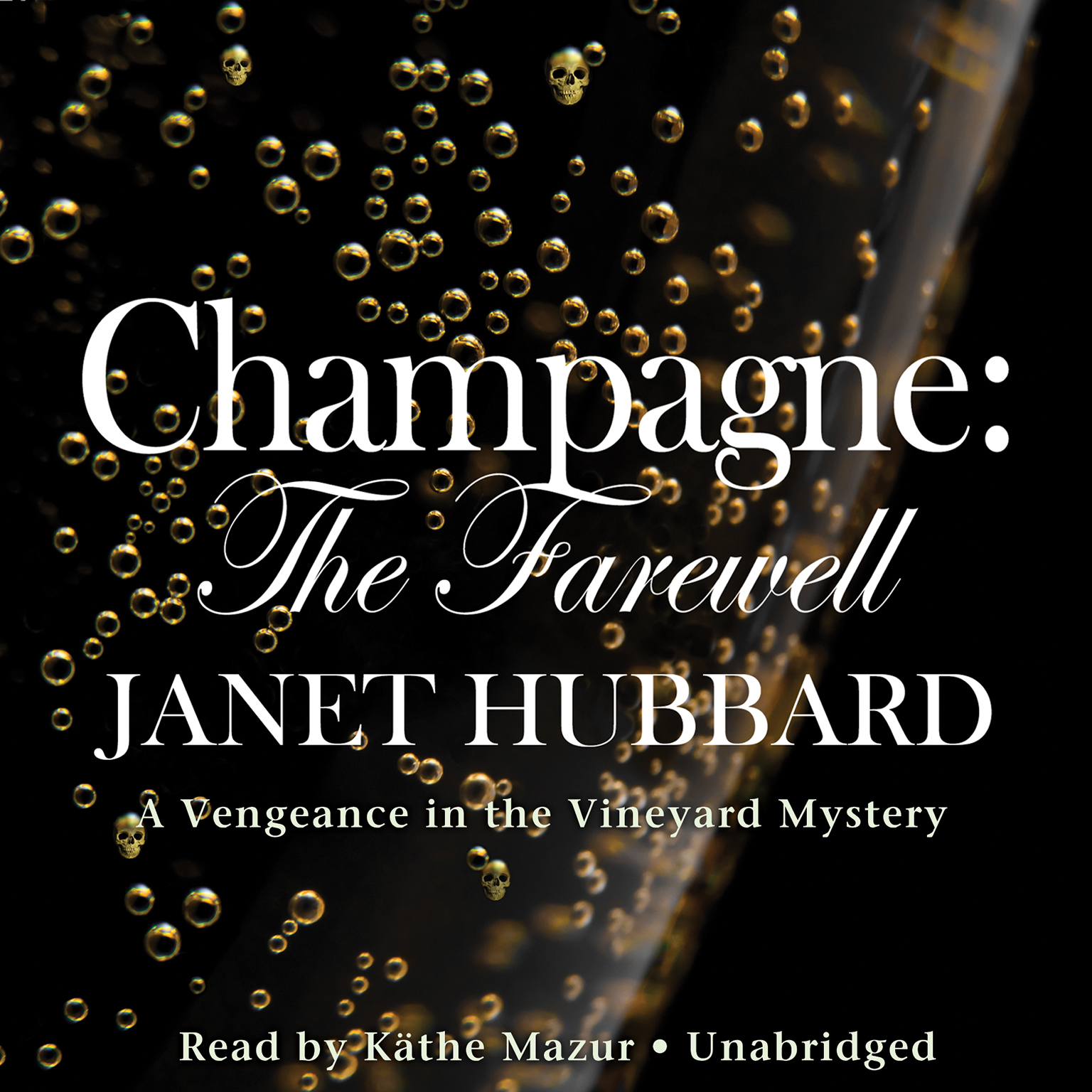 Printable Champagne: The Farewell Audiobook Cover Art