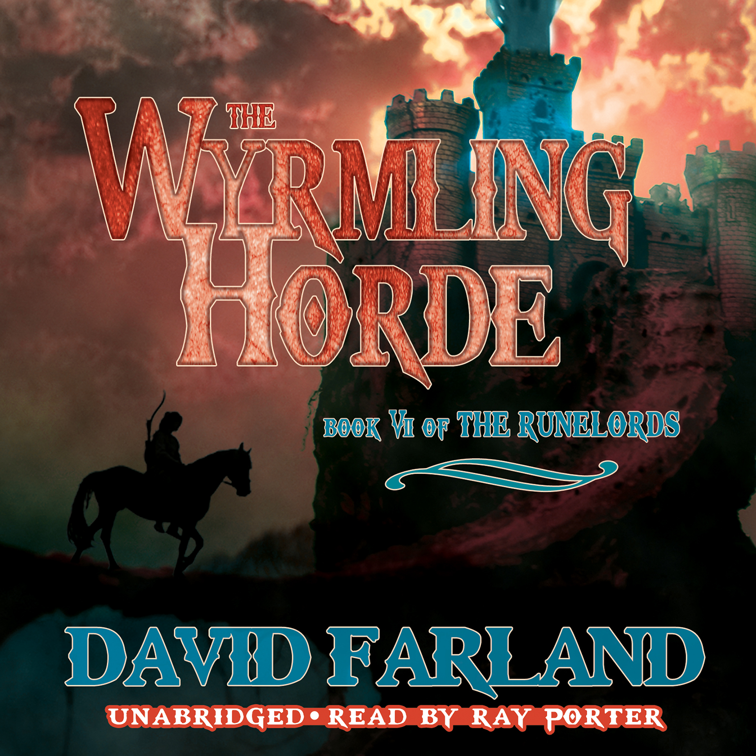 Printable The Wyrmling Horde Audiobook Cover Art