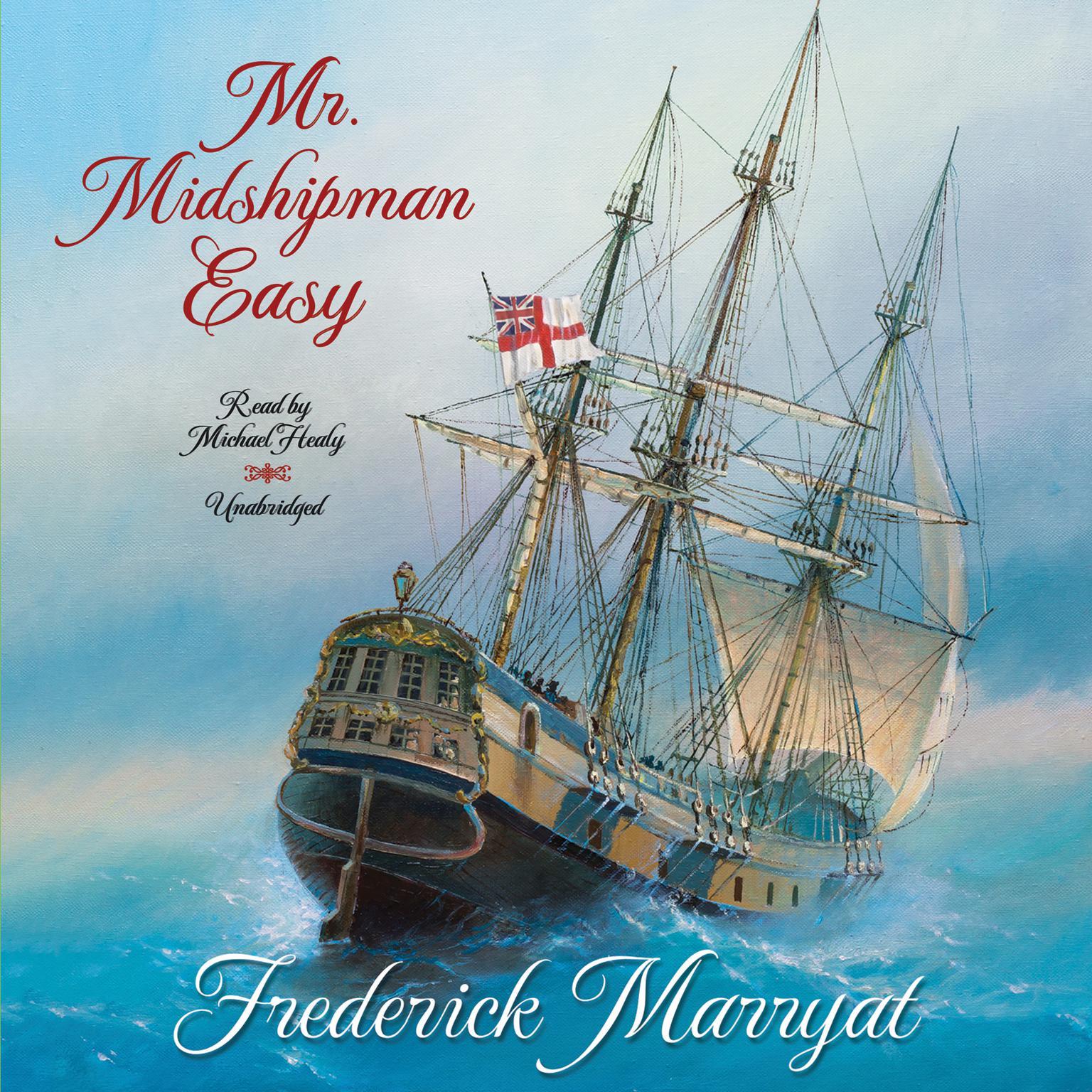 Printable Mr. Midshipman Easy Audiobook Cover Art