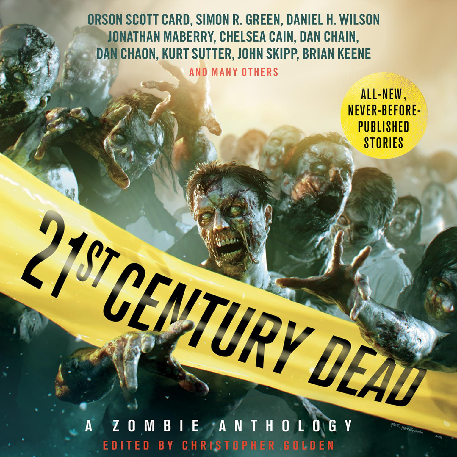 21st Century Dead: A Zombie Anthology Audiobook, by Mark Morris