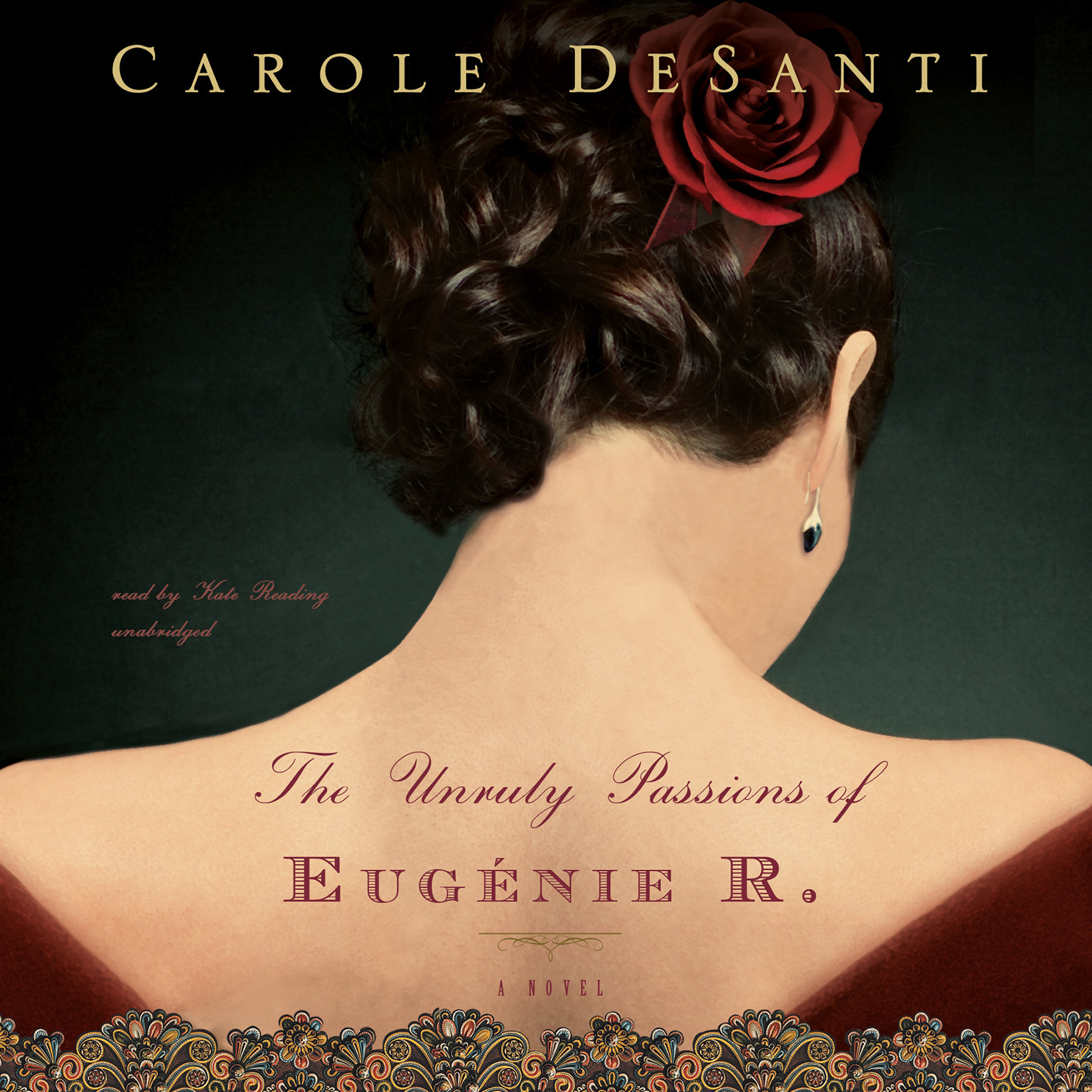 Printable The Unruly Passions of Eugénie R. Audiobook Cover Art