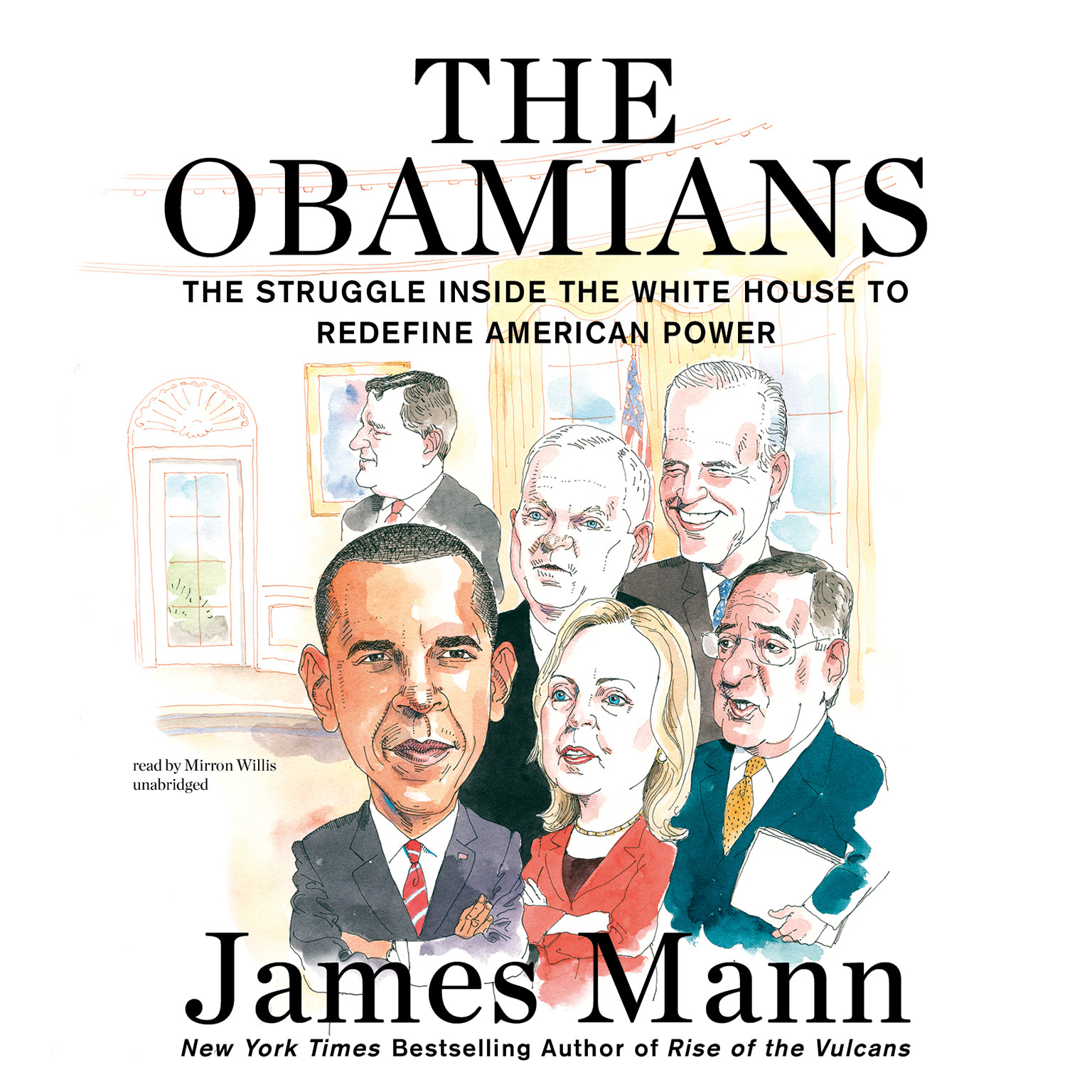 Printable The Obamians: The Struggle inside the White House to Redefine American Power Audiobook Cover Art
