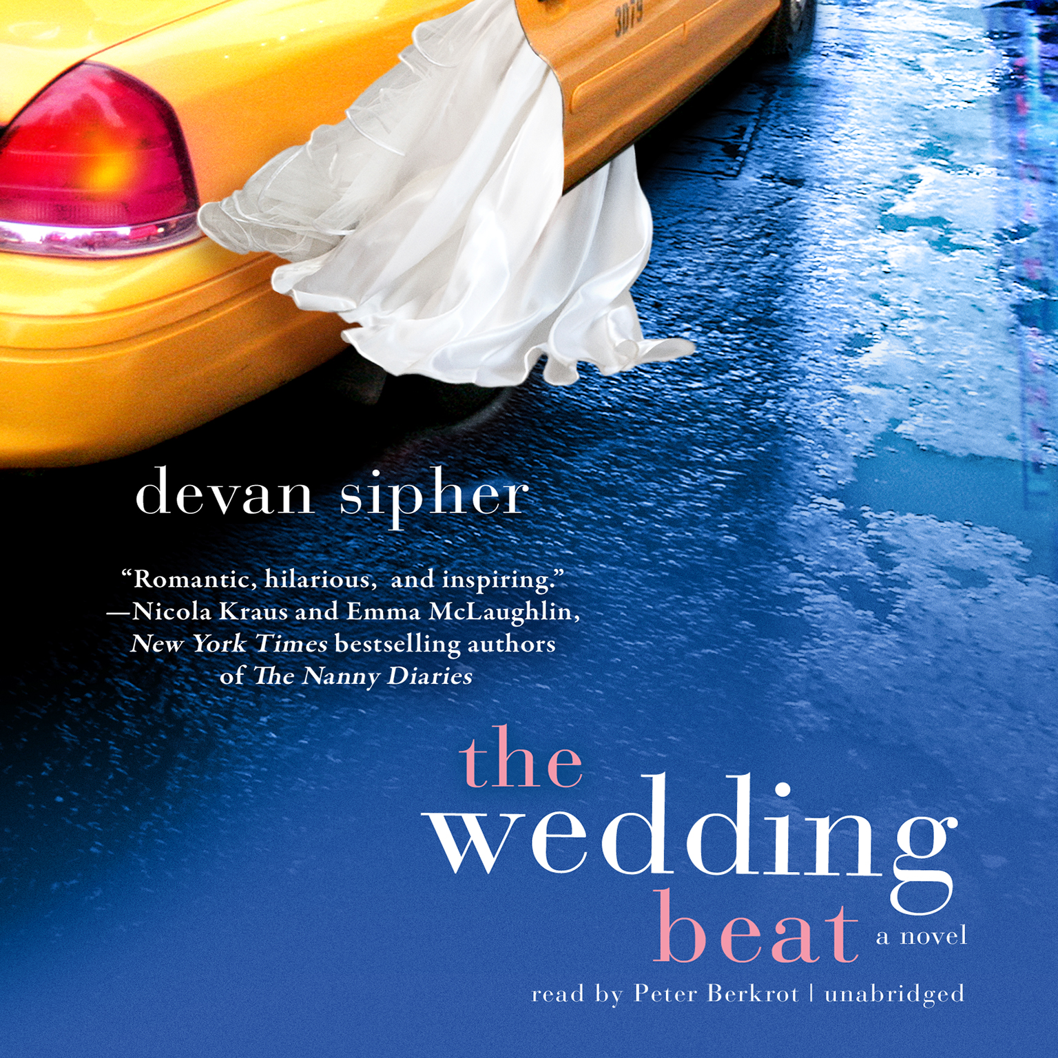 Printable The Wedding Beat Audiobook Cover Art