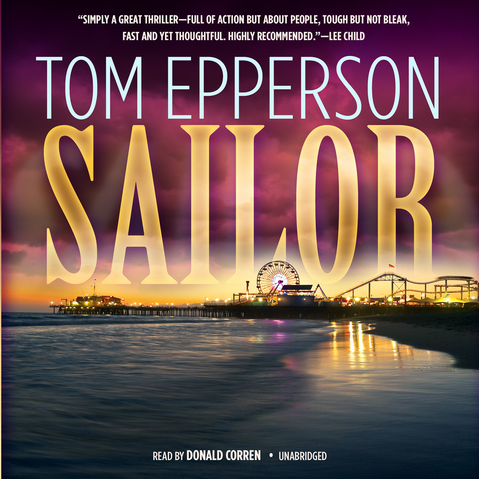 Printable Sailor Audiobook Cover Art