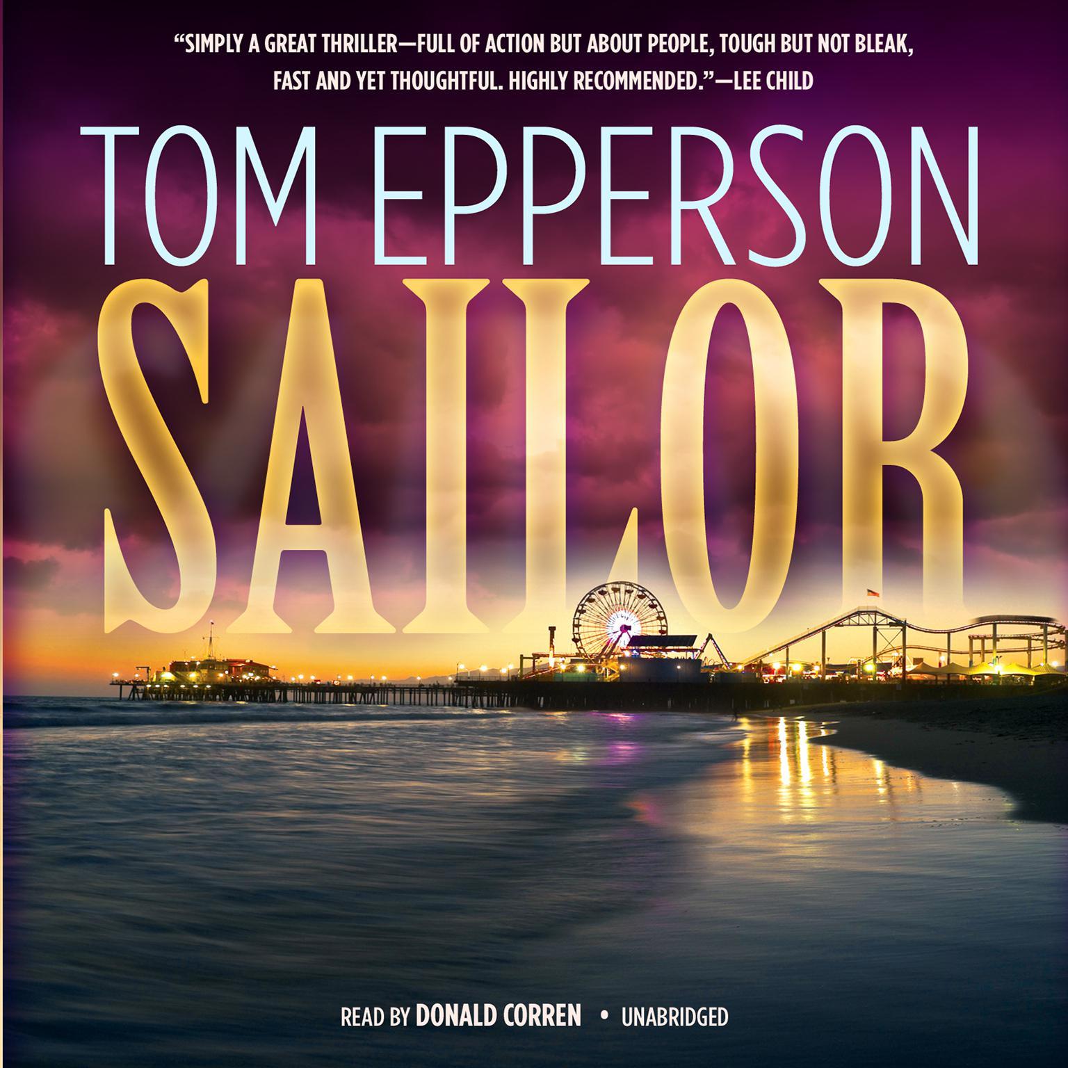 Printable Sailor Audiobook Cover Art