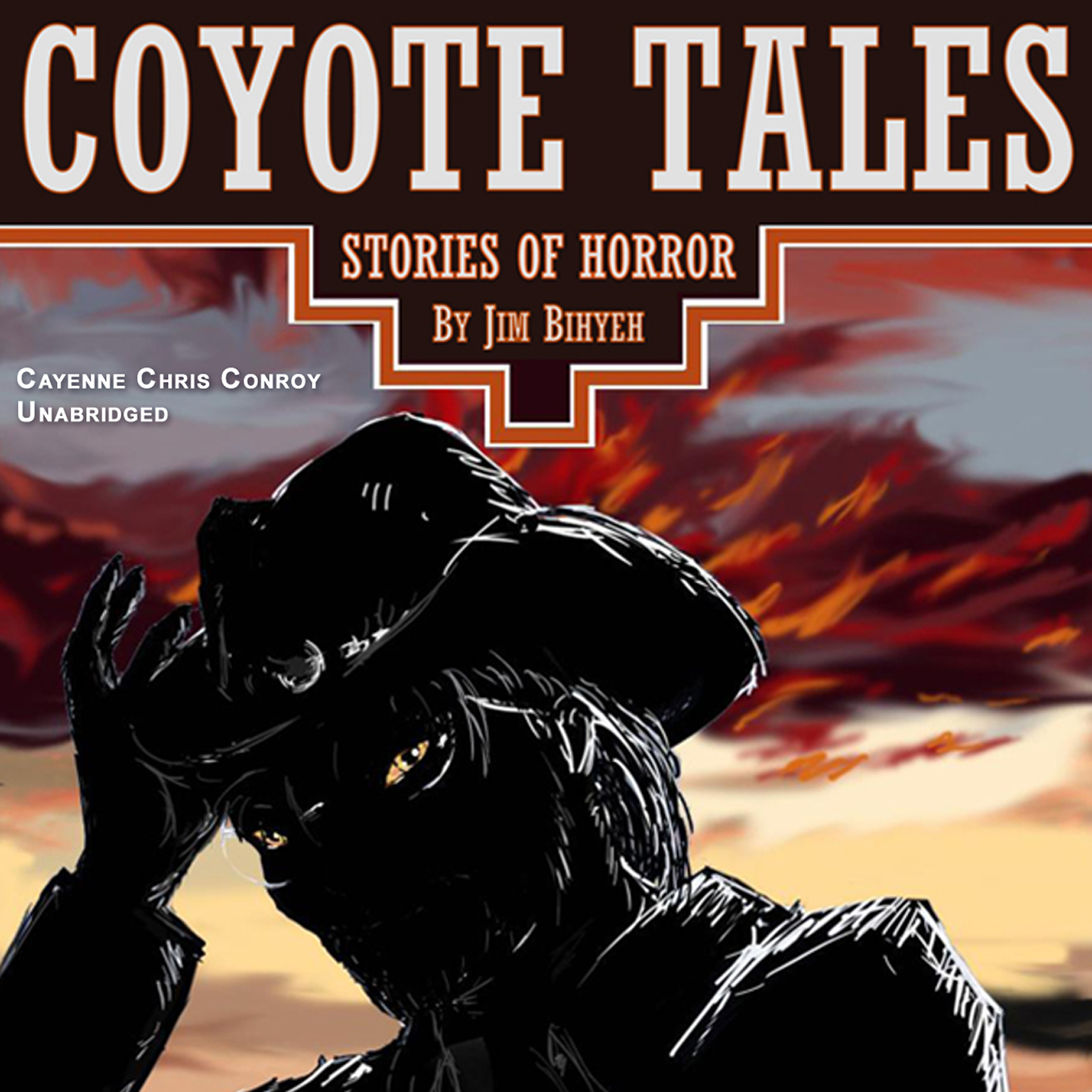 Printable Coyote Tales Audiobook Cover Art