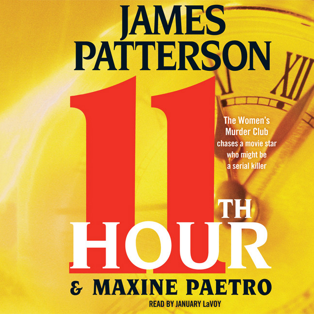 Printable 11th Hour Audiobook Cover Art