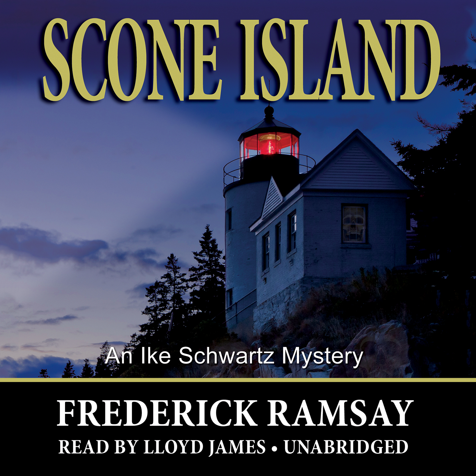 Printable Scone Island: An Ike Schwartz Mystery Audiobook Cover Art