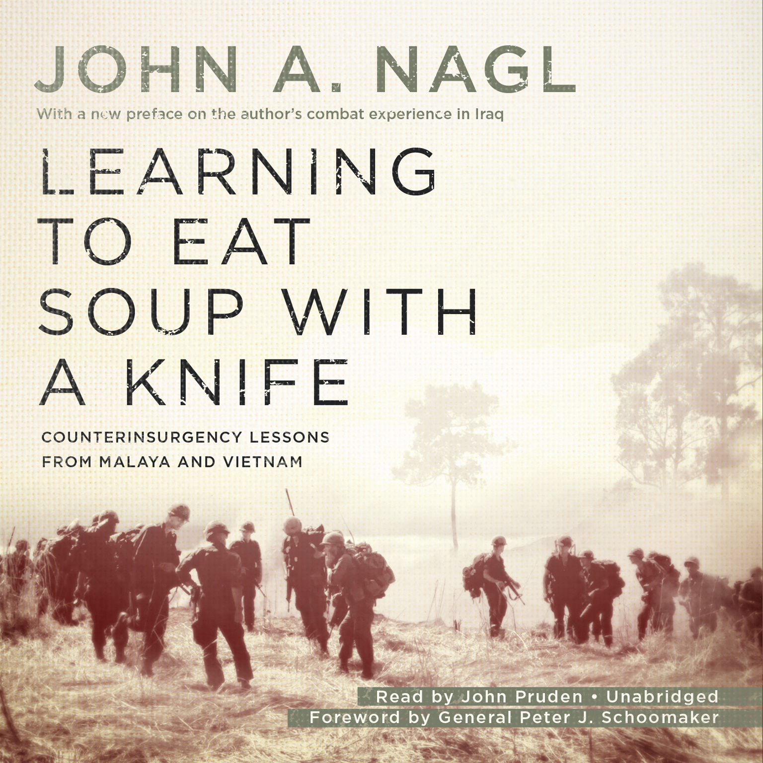 Printable Learning to Eat Soup with a Knife: Counterinsurgency Lessons from Malaya and Vietnam Audiobook Cover Art