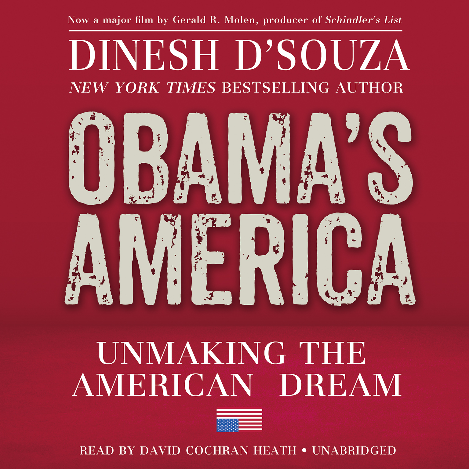 Printable Obama's America: Unmaking the American Dream Audiobook Cover Art