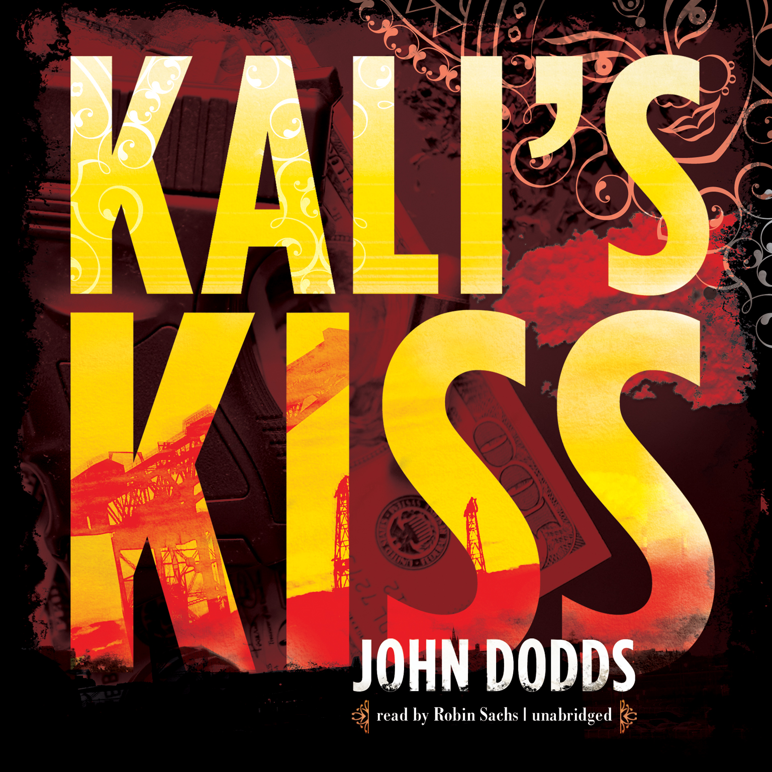 Printable Kali's Kiss Audiobook Cover Art