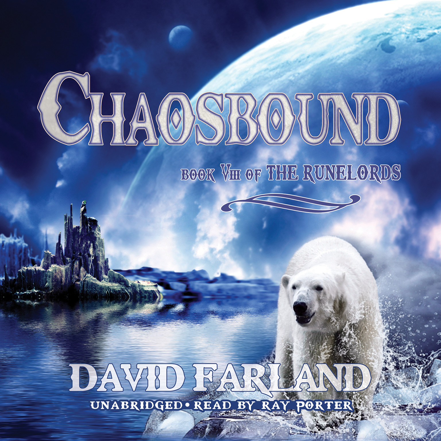 Printable Chaosbound: The Eighth Book of the Runelords Audiobook Cover Art