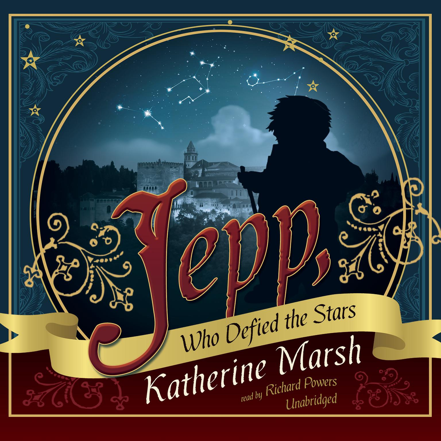 Printable Jepp, Who Defied the Stars Audiobook Cover Art