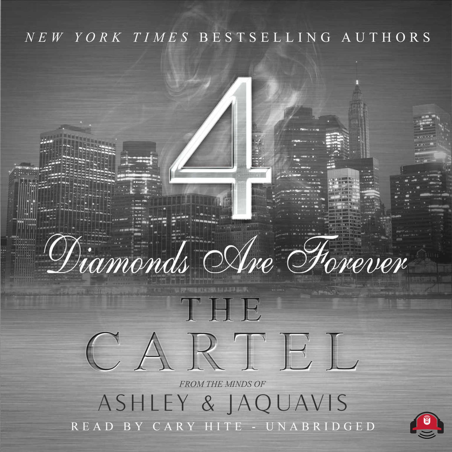 Printable The Cartel 4: Diamonds Are Forever Audiobook Cover Art