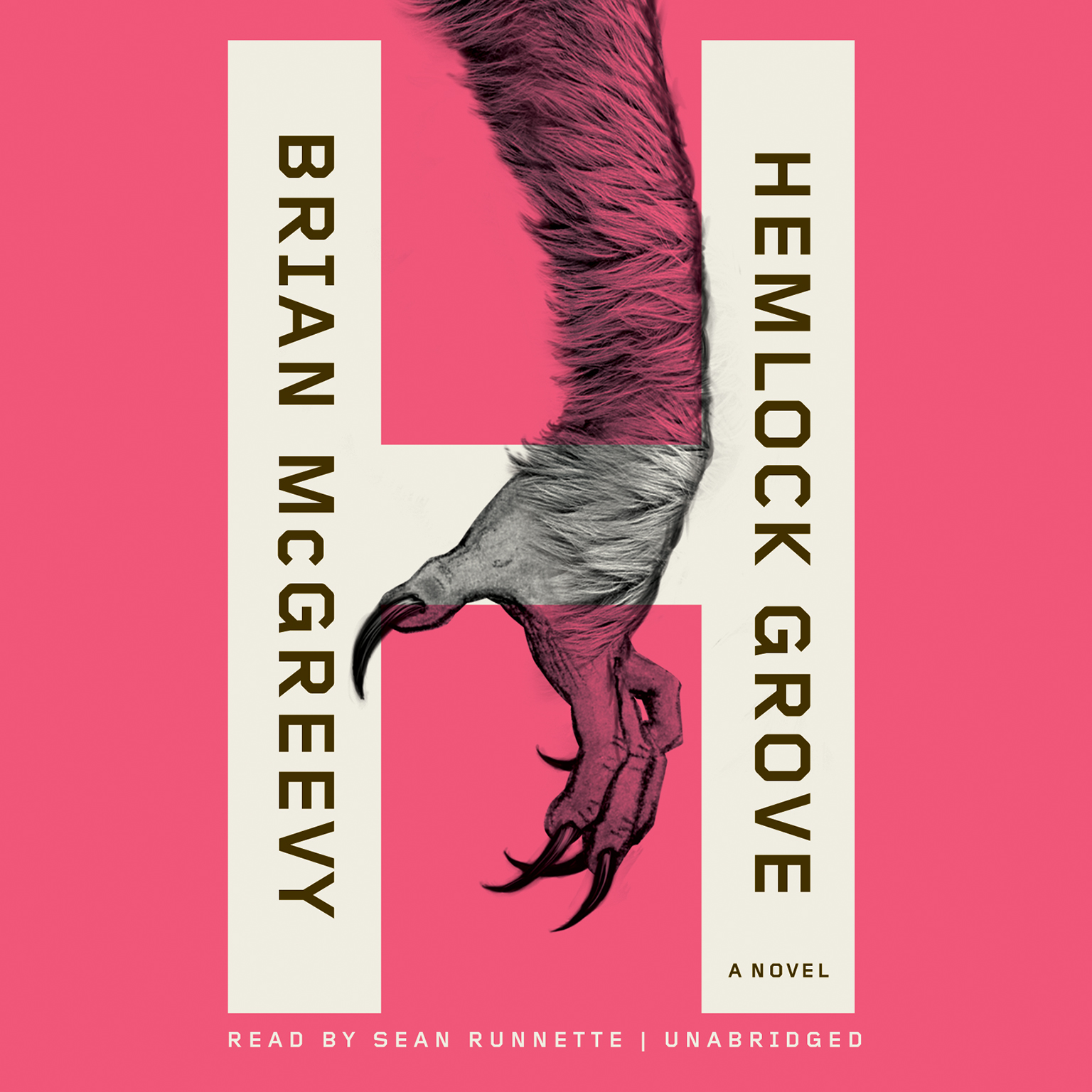 Printable Hemlock Grove: or, The Wise Wolf Audiobook Cover Art