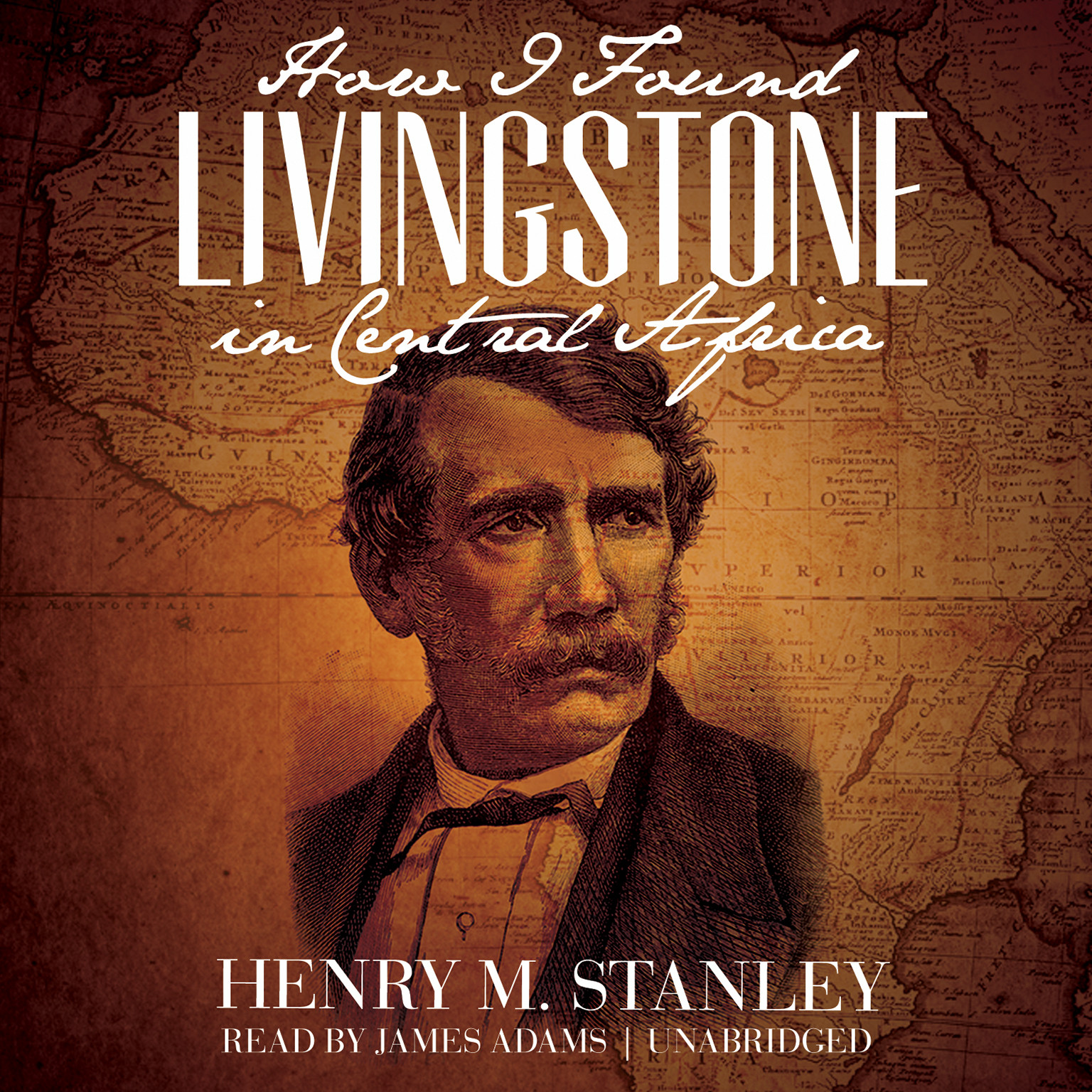 Printable How I Found Livingstone in Central Africa Audiobook Cover Art