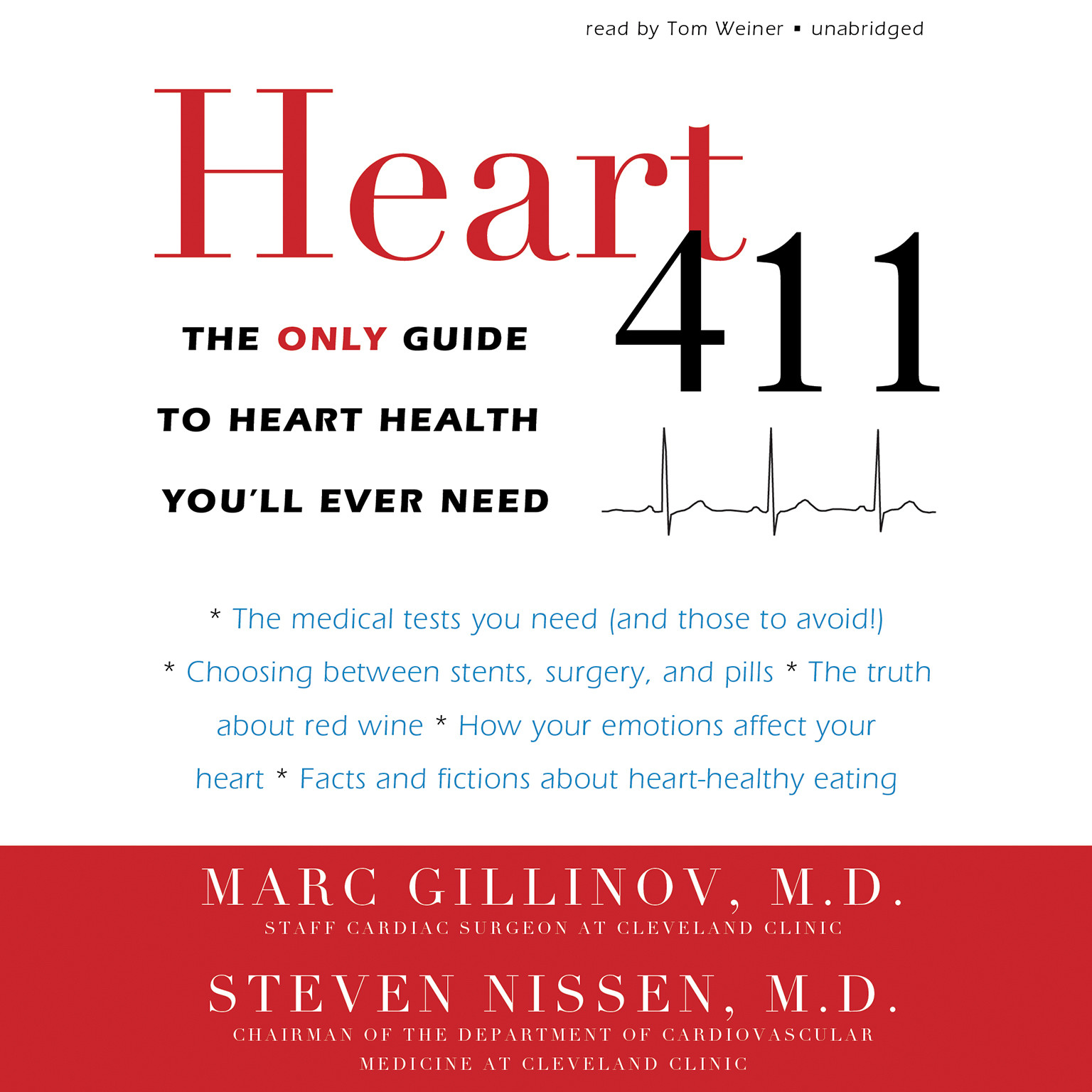 Printable Heart 411: The Only Guide to Heart Health You'll Ever Need Audiobook Cover Art