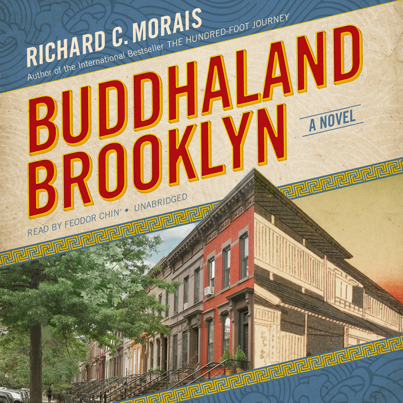 Printable Buddhaland Brooklyn: A Novel Audiobook Cover Art