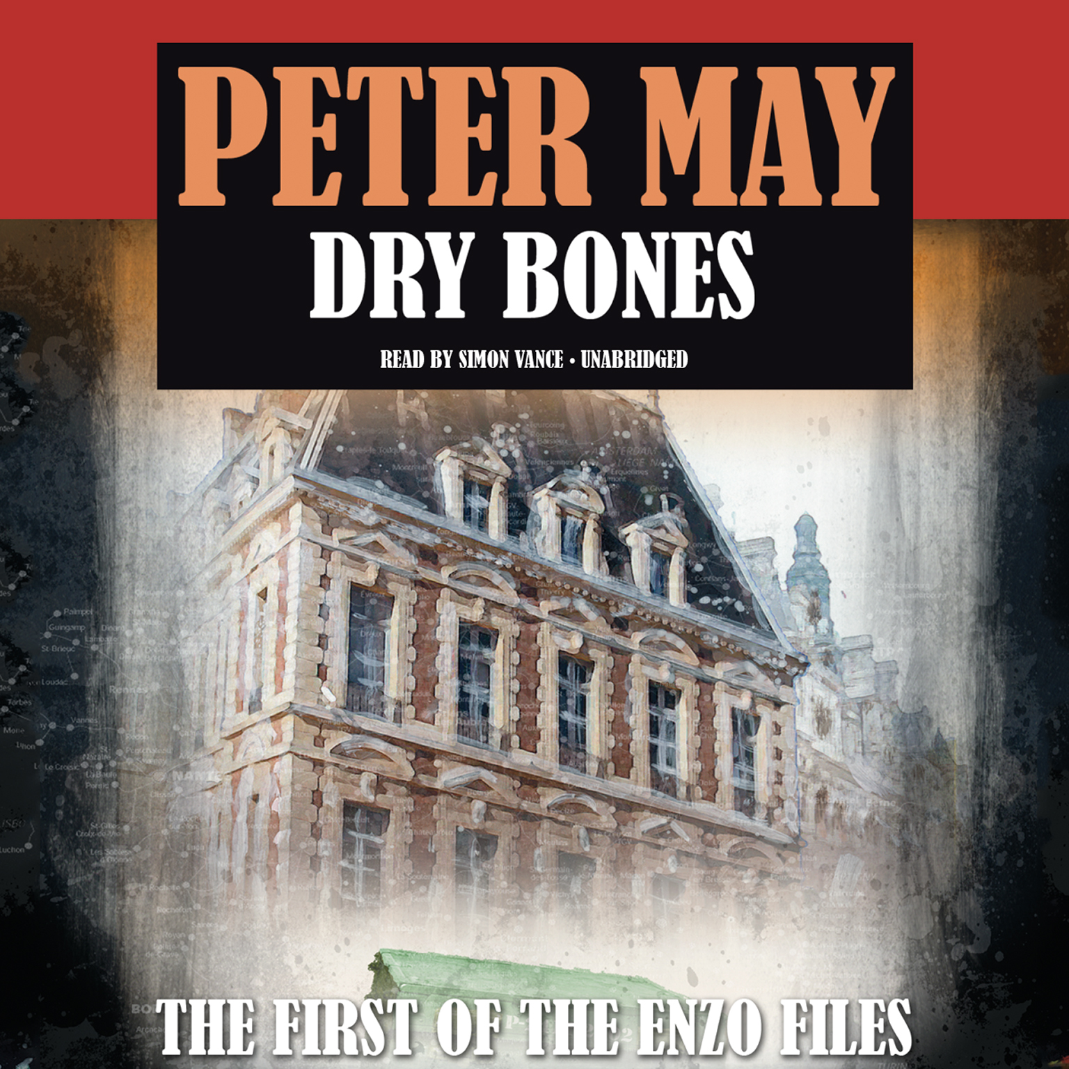 Printable Dry Bones Audiobook Cover Art