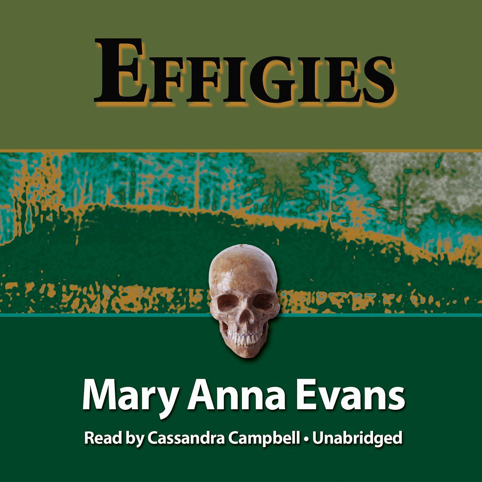 Printable Effigies Audiobook Cover Art
