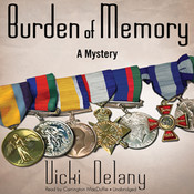Burden of Memory: A Mystery, by Vicki Delany