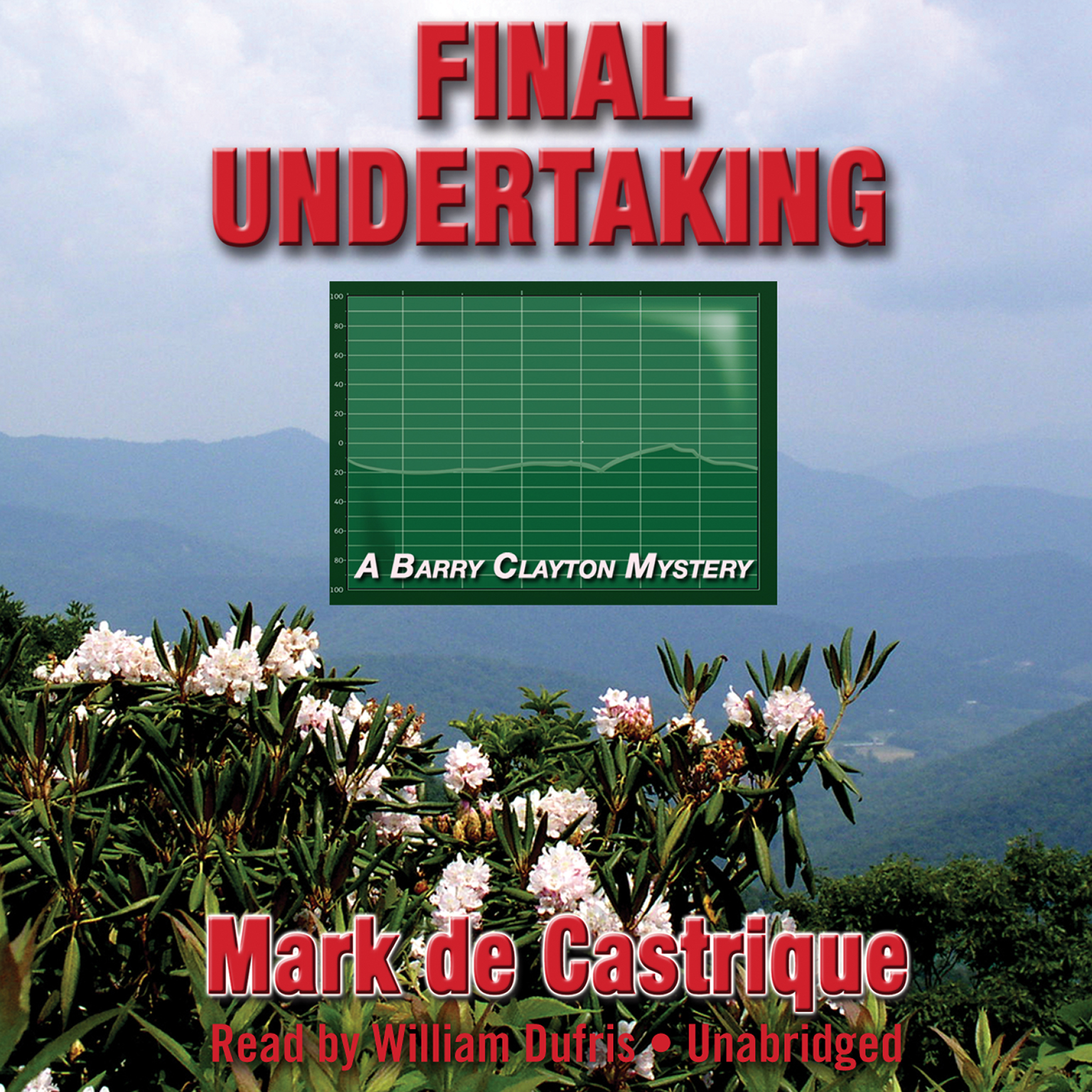 Printable Final Undertaking Audiobook Cover Art