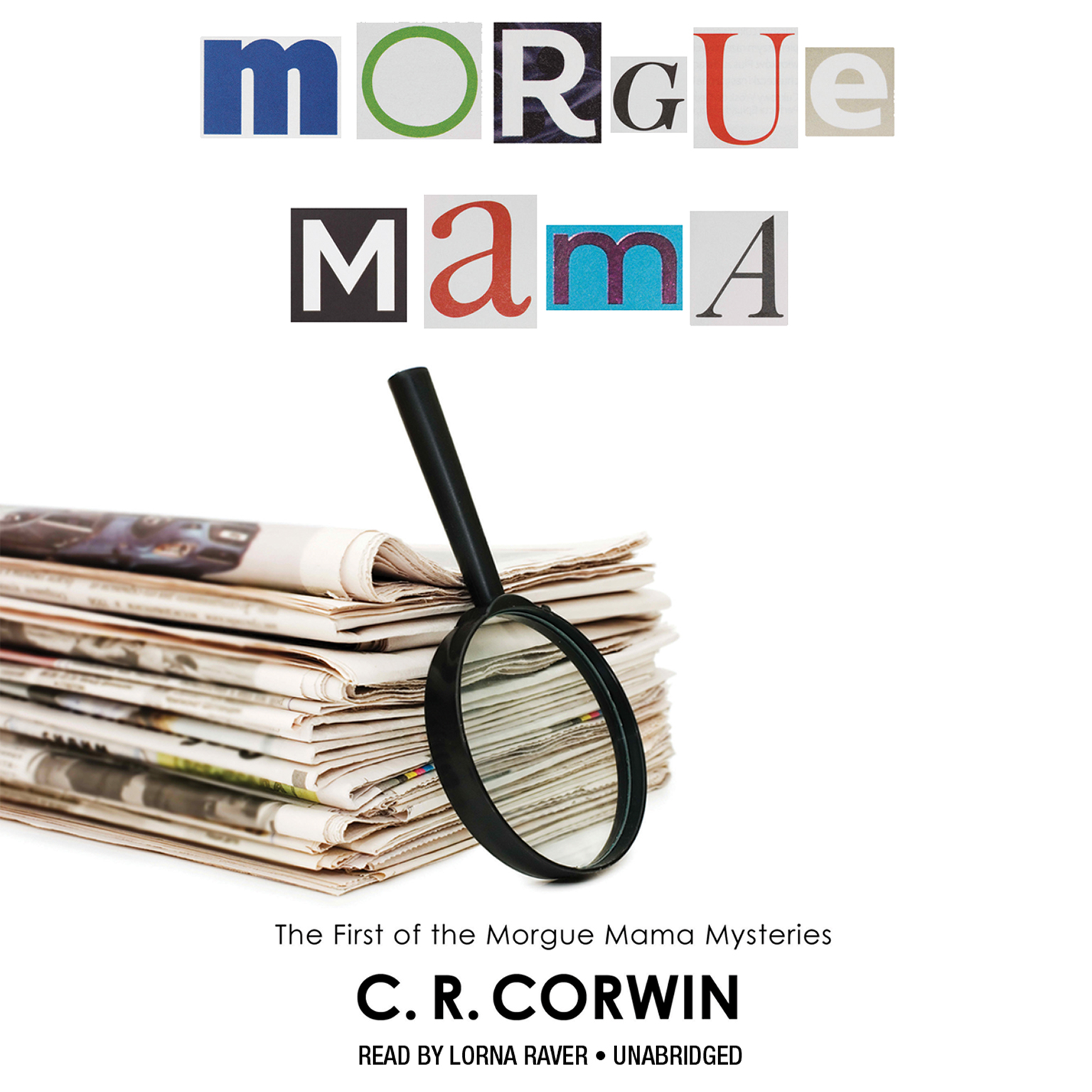 Printable Morgue Mama: The Cross Kisses Back Audiobook Cover Art
